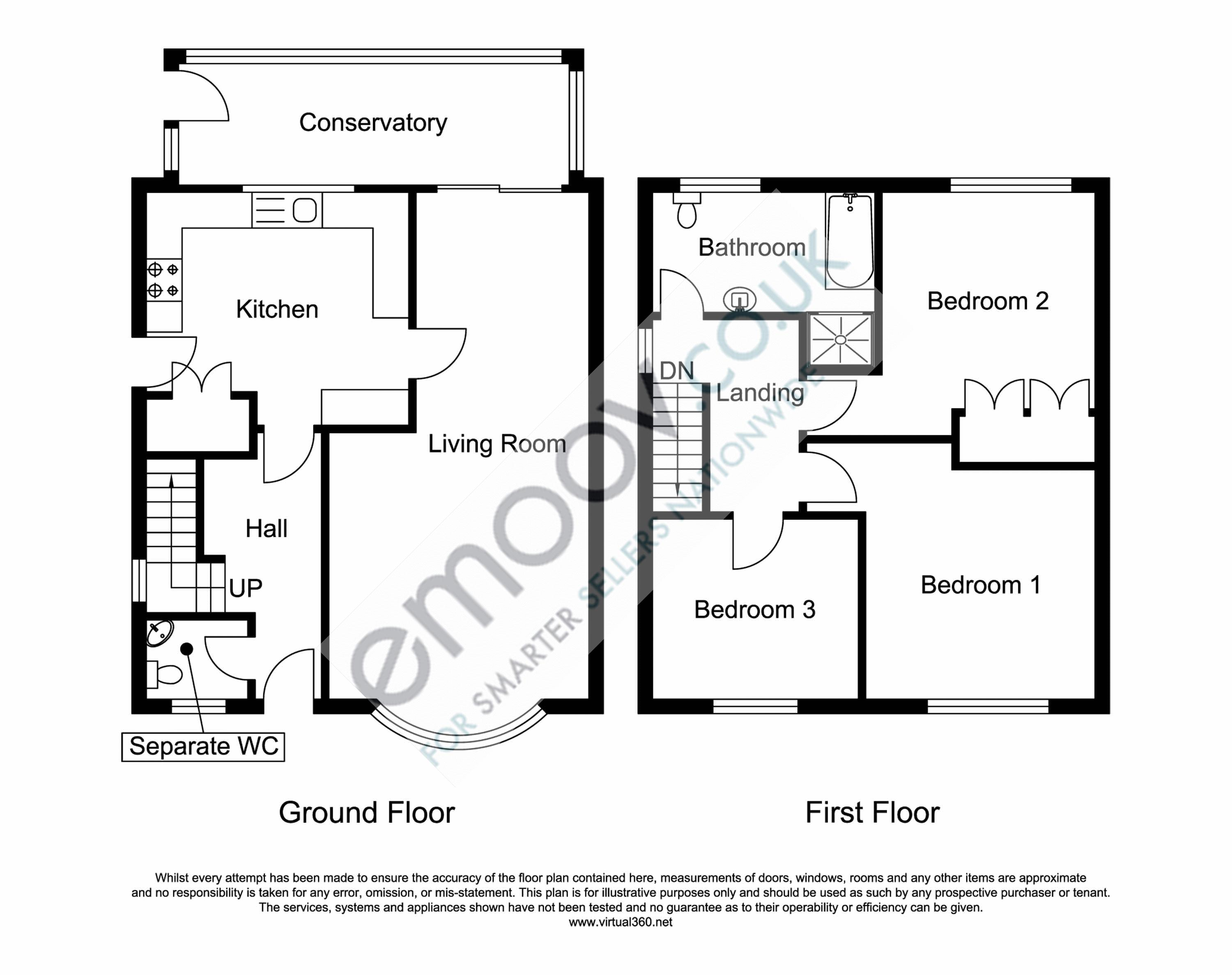 The willows oxspring, Sheffield. floor plan