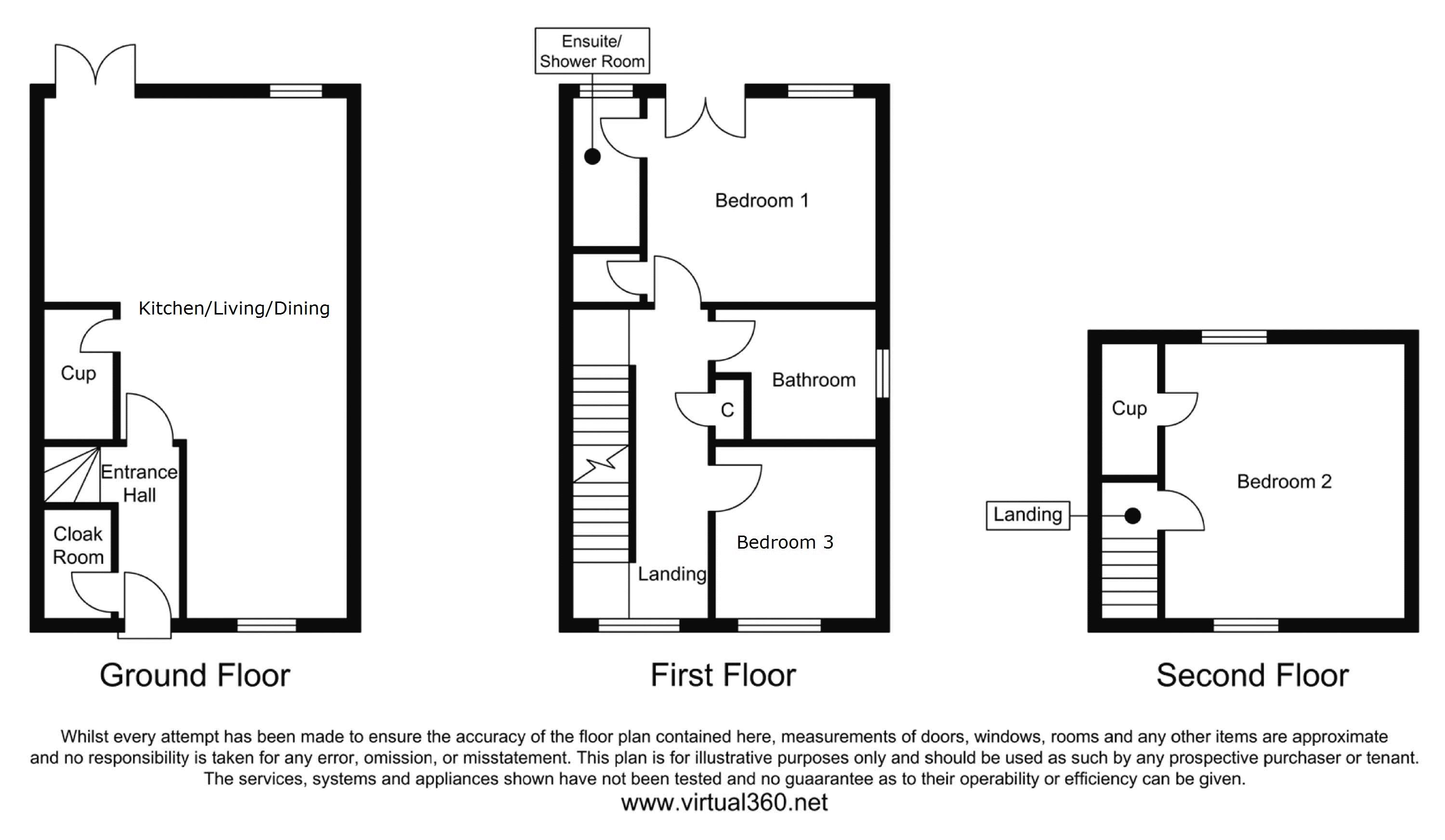 Maybury Villas, Newcastle Upon Tyne floor plan