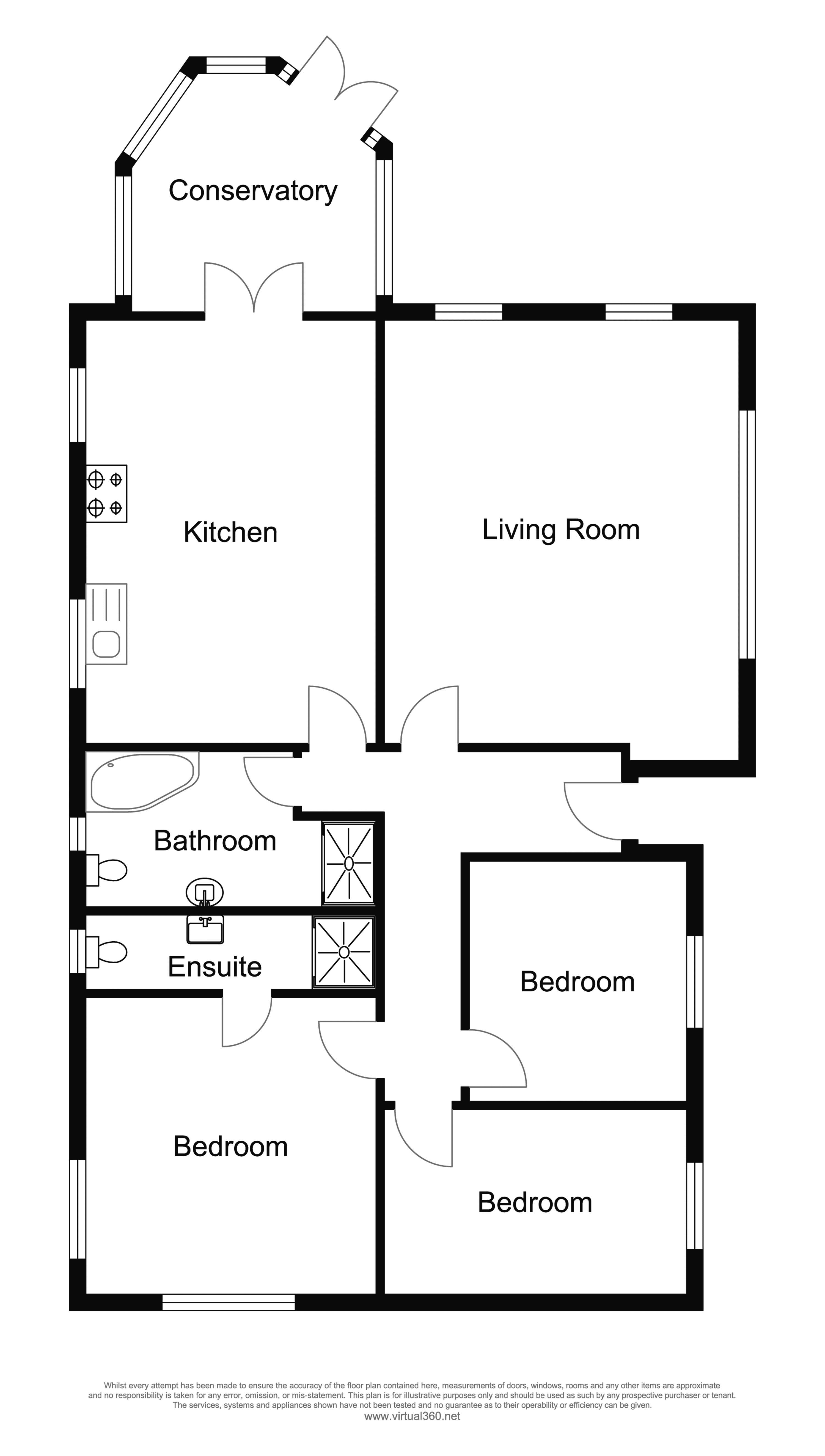 South Valley Drive, Colne floor plan