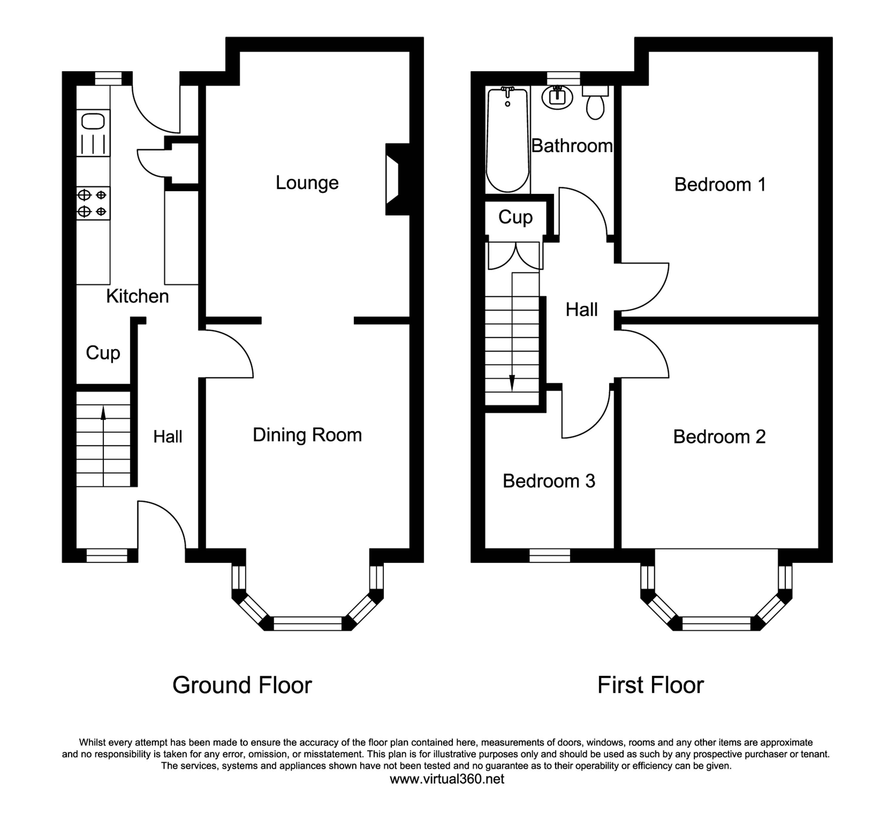 Abbotsford Road, Blackpool floor plan