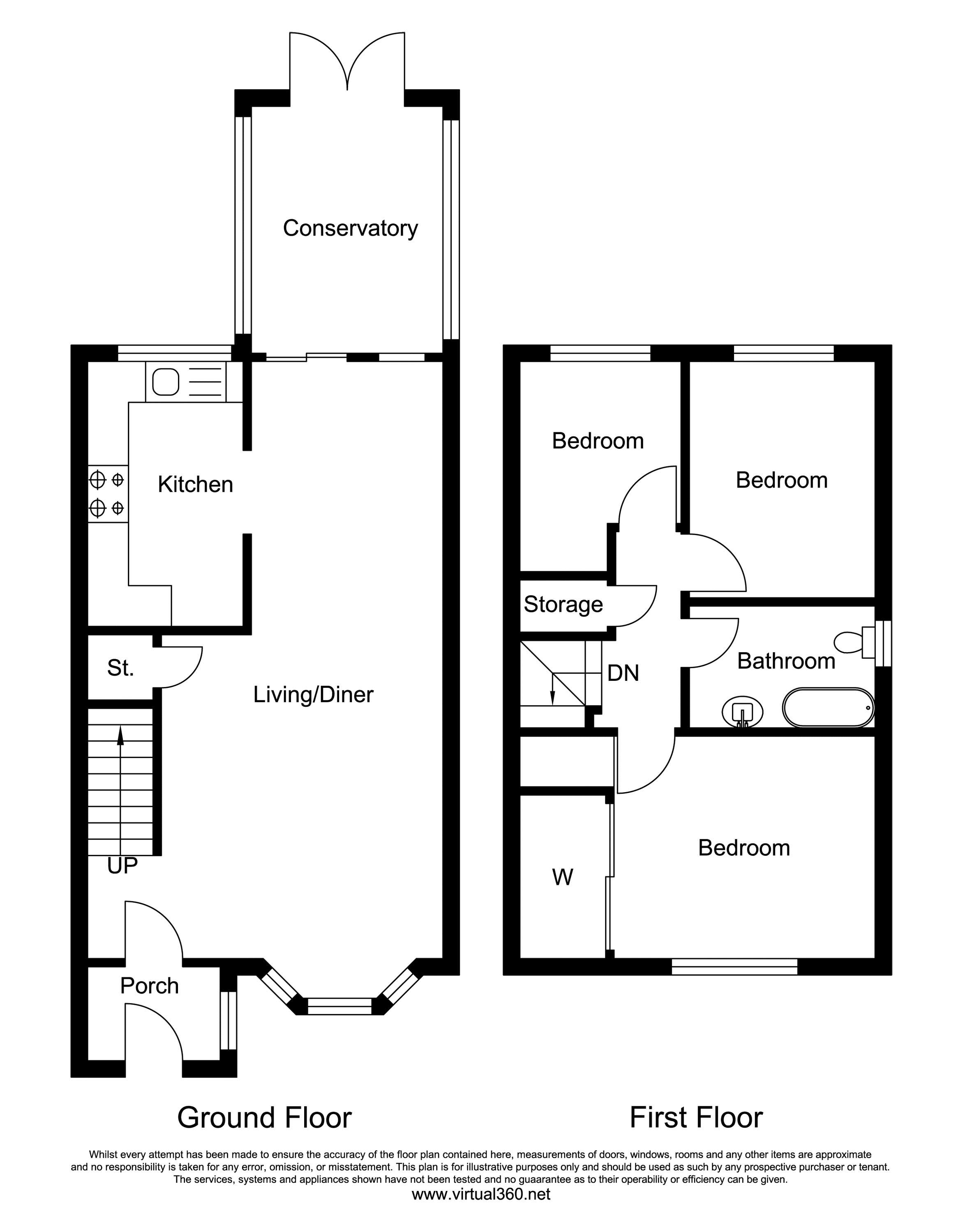 Barford Drive, Wilmslow floor plan