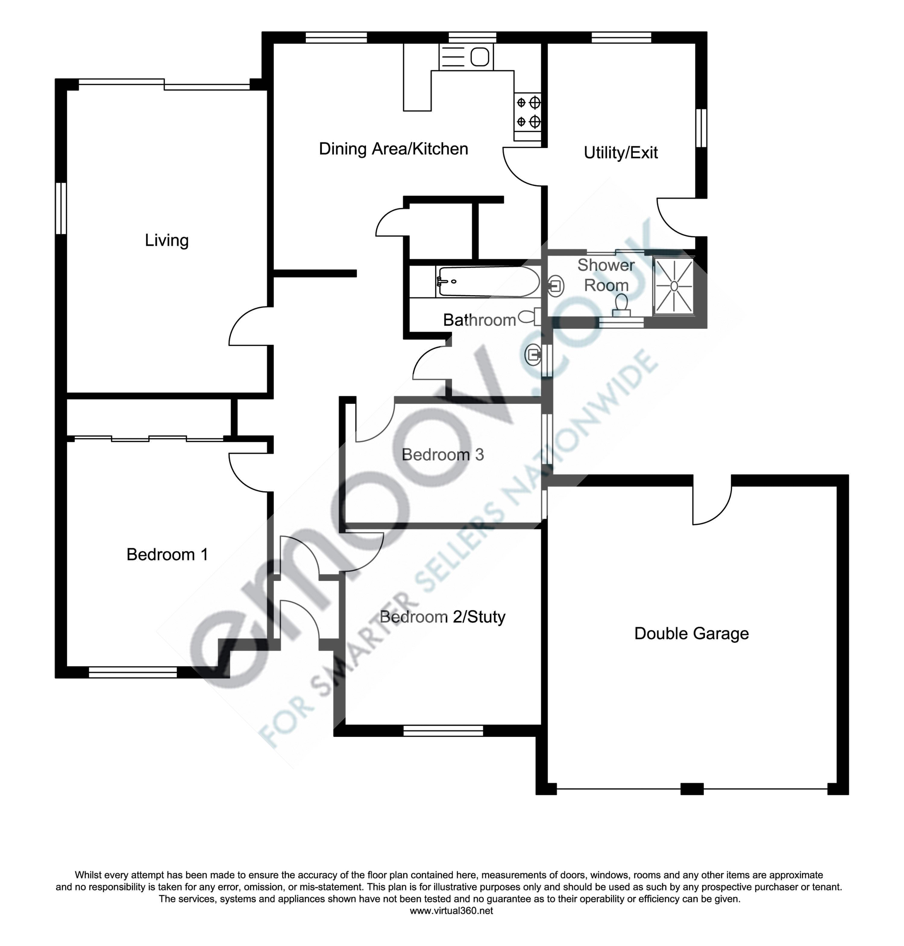 Knowle Drive, Copthorne floor plan