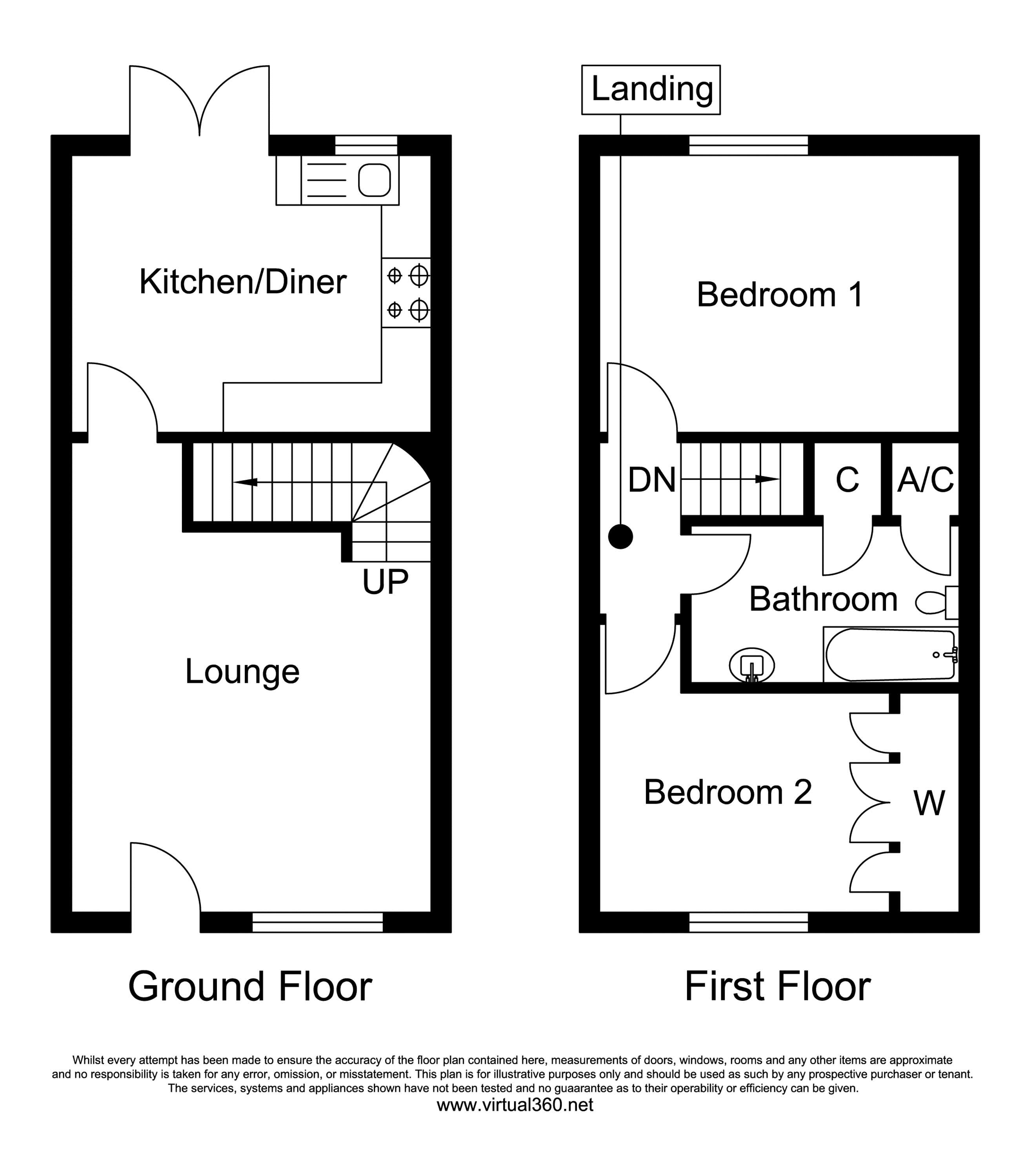 Horsford, Norwich floor plan