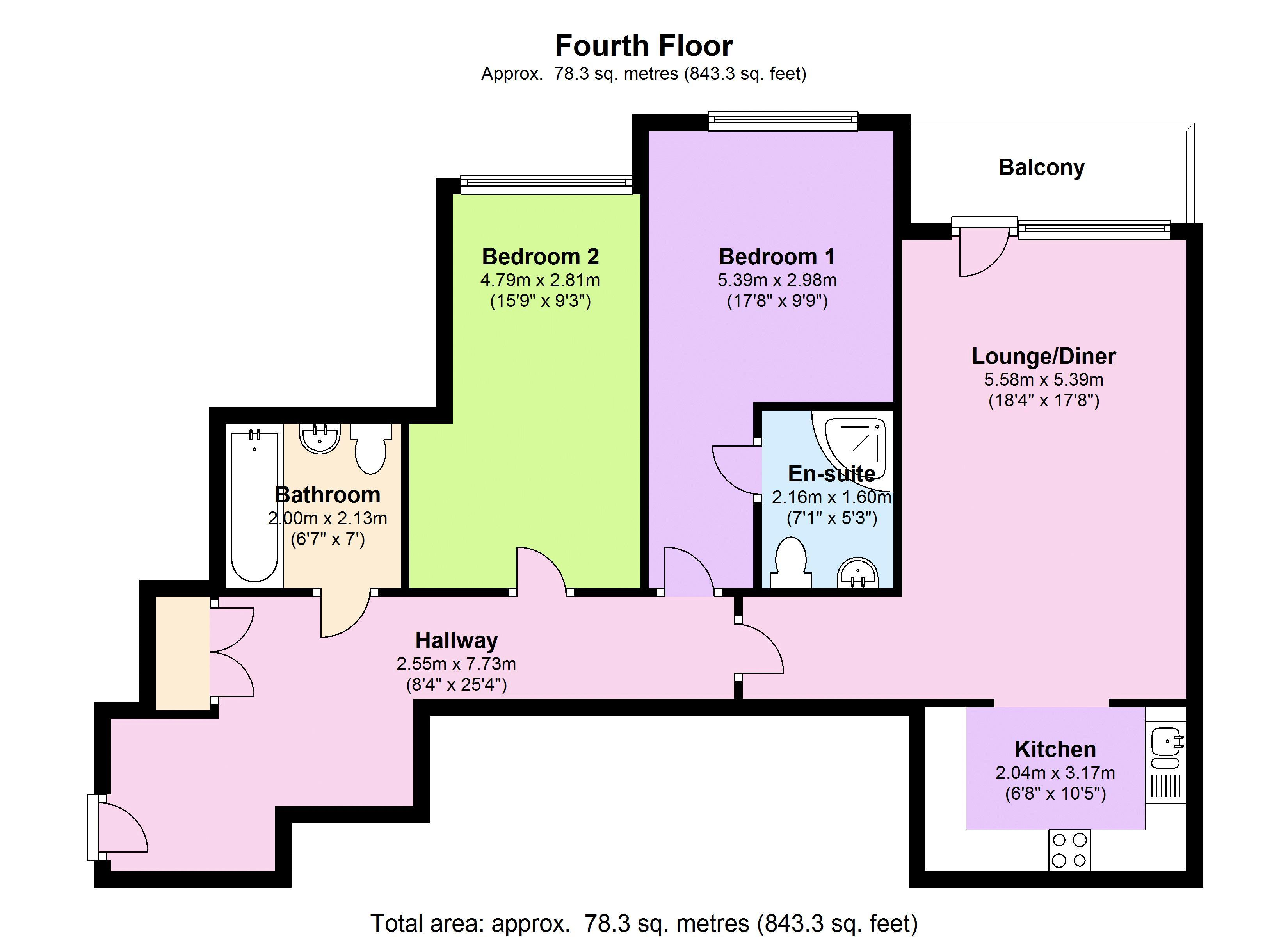 Rick Roberts Way floor plan
