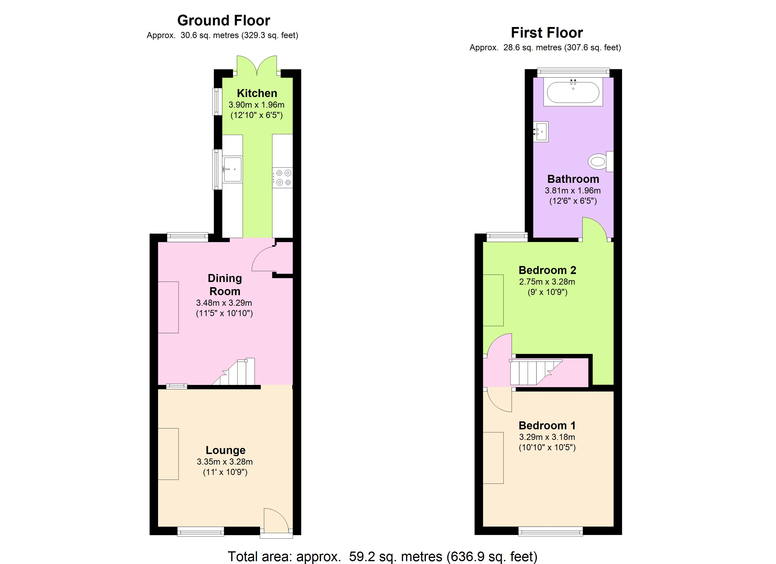 Northgate Street, Colchester, CO1 floor plan