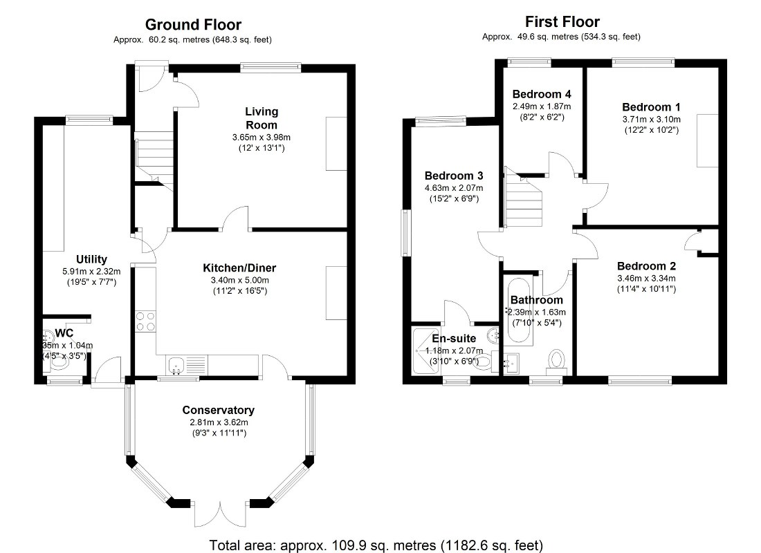 Park Lane , Birdsedge, Huddersfield, HD8 floor plan