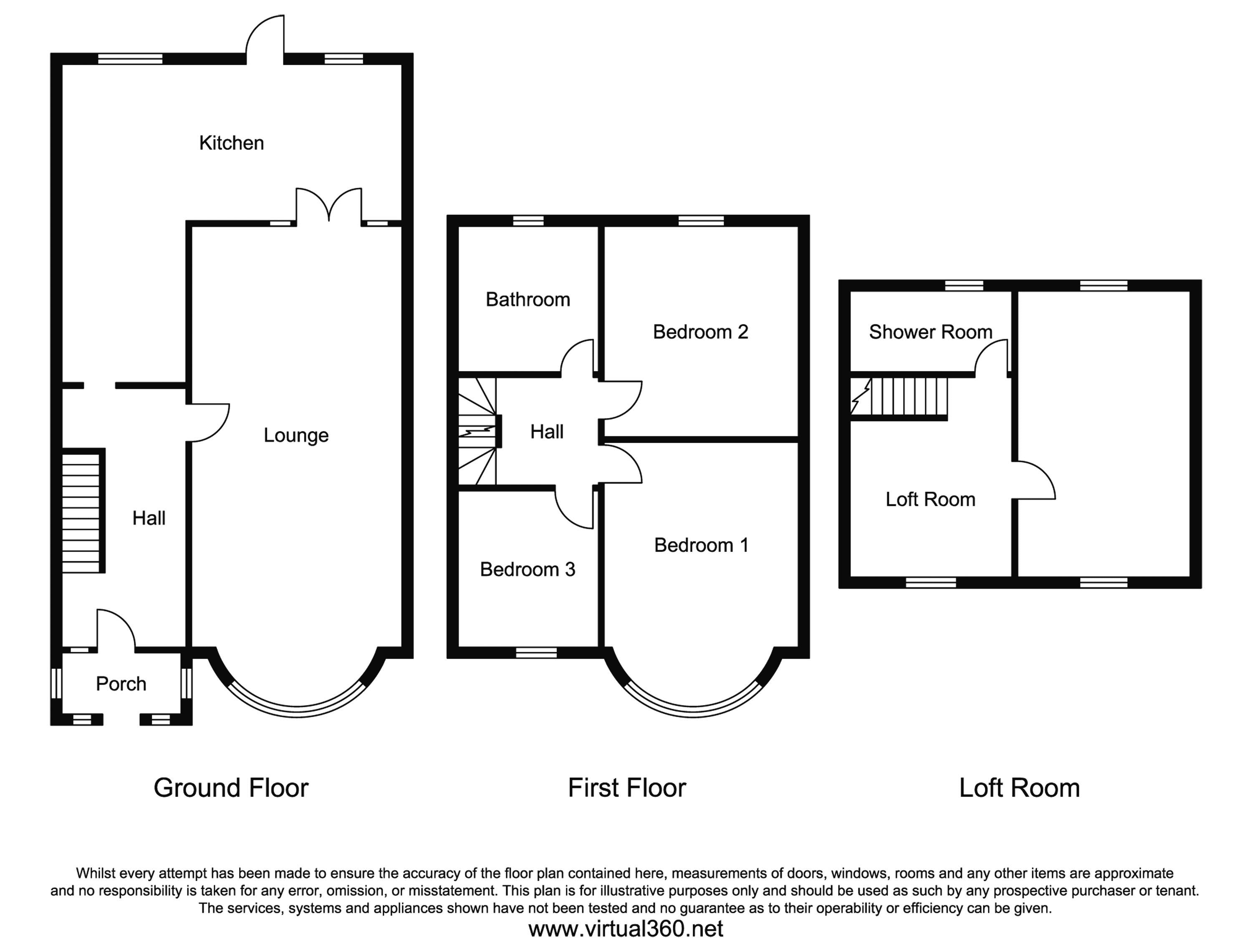 Beccles Drive, Barking floor plan