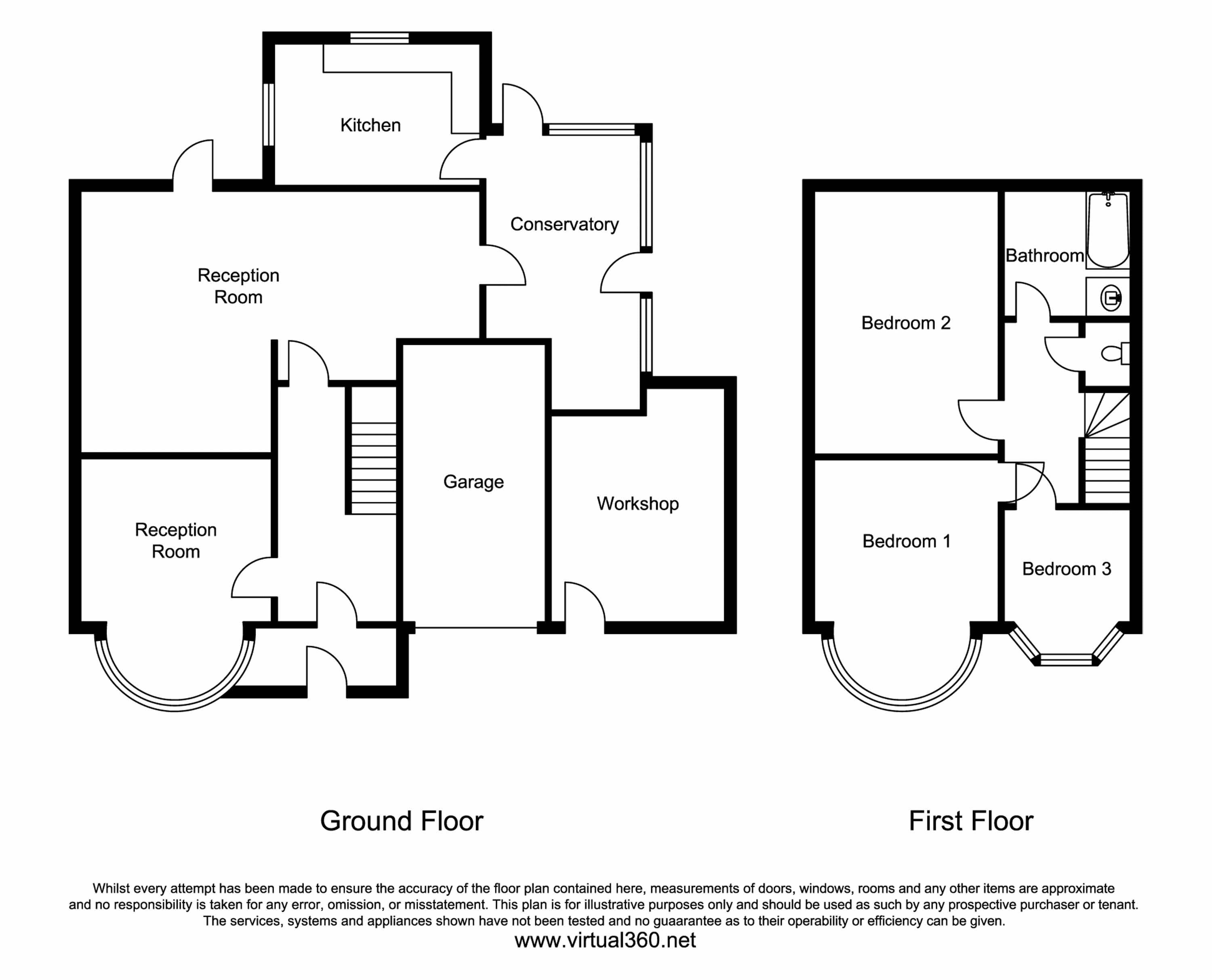 Yeading Avenue, Harrow floor plan