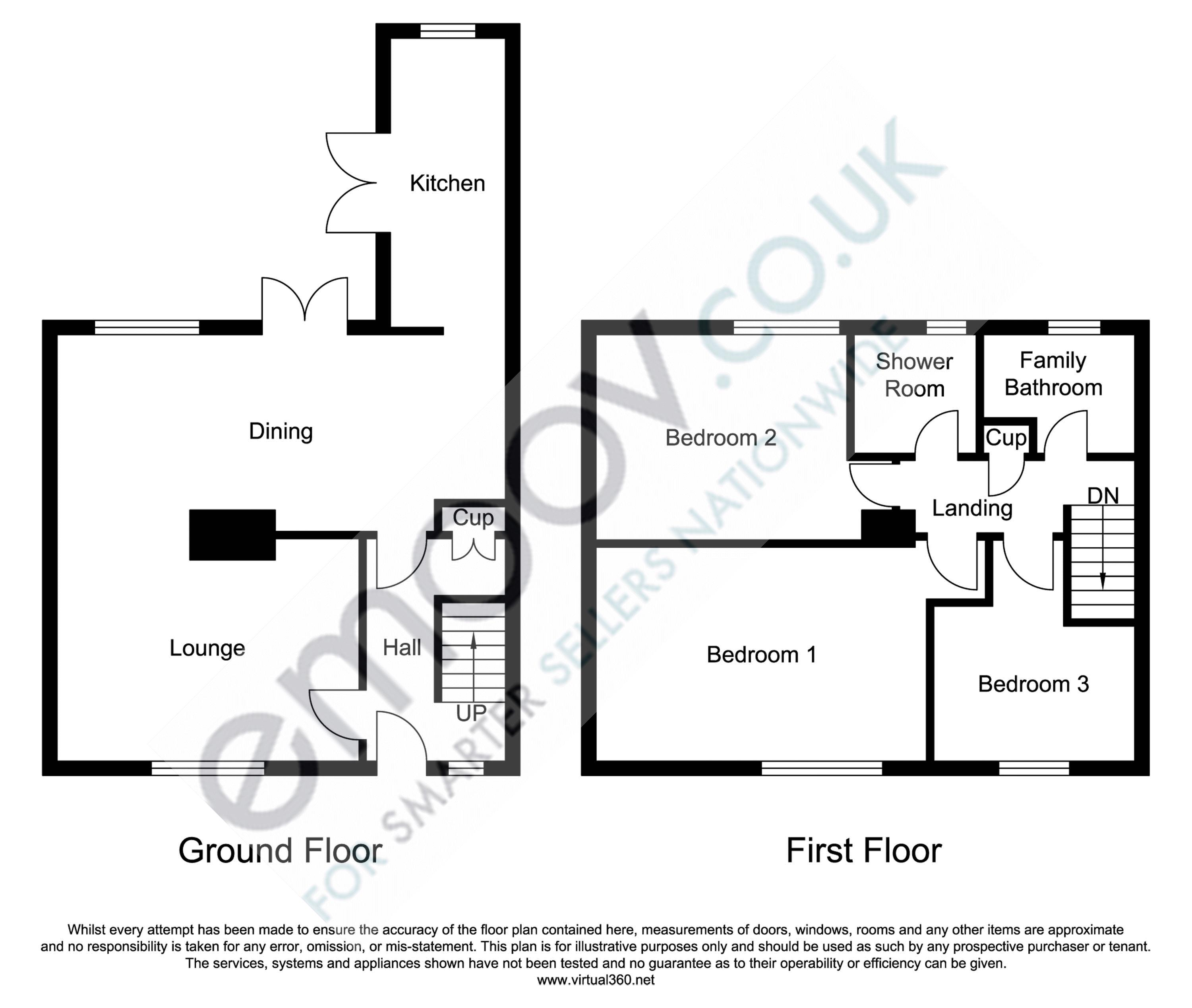 Greenbrow Road, Manchester floor plan
