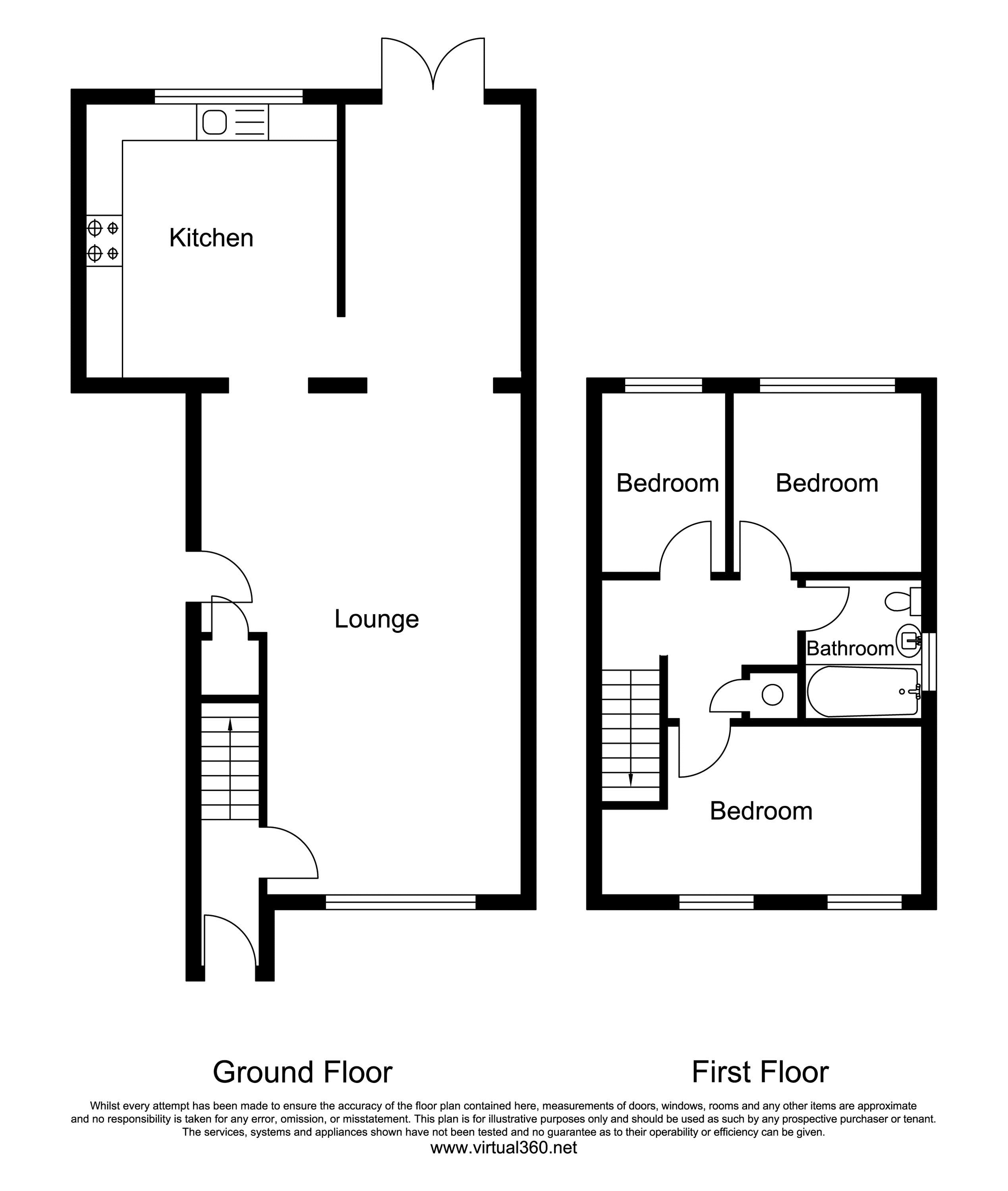 Tamar Close, Congleton floor plan