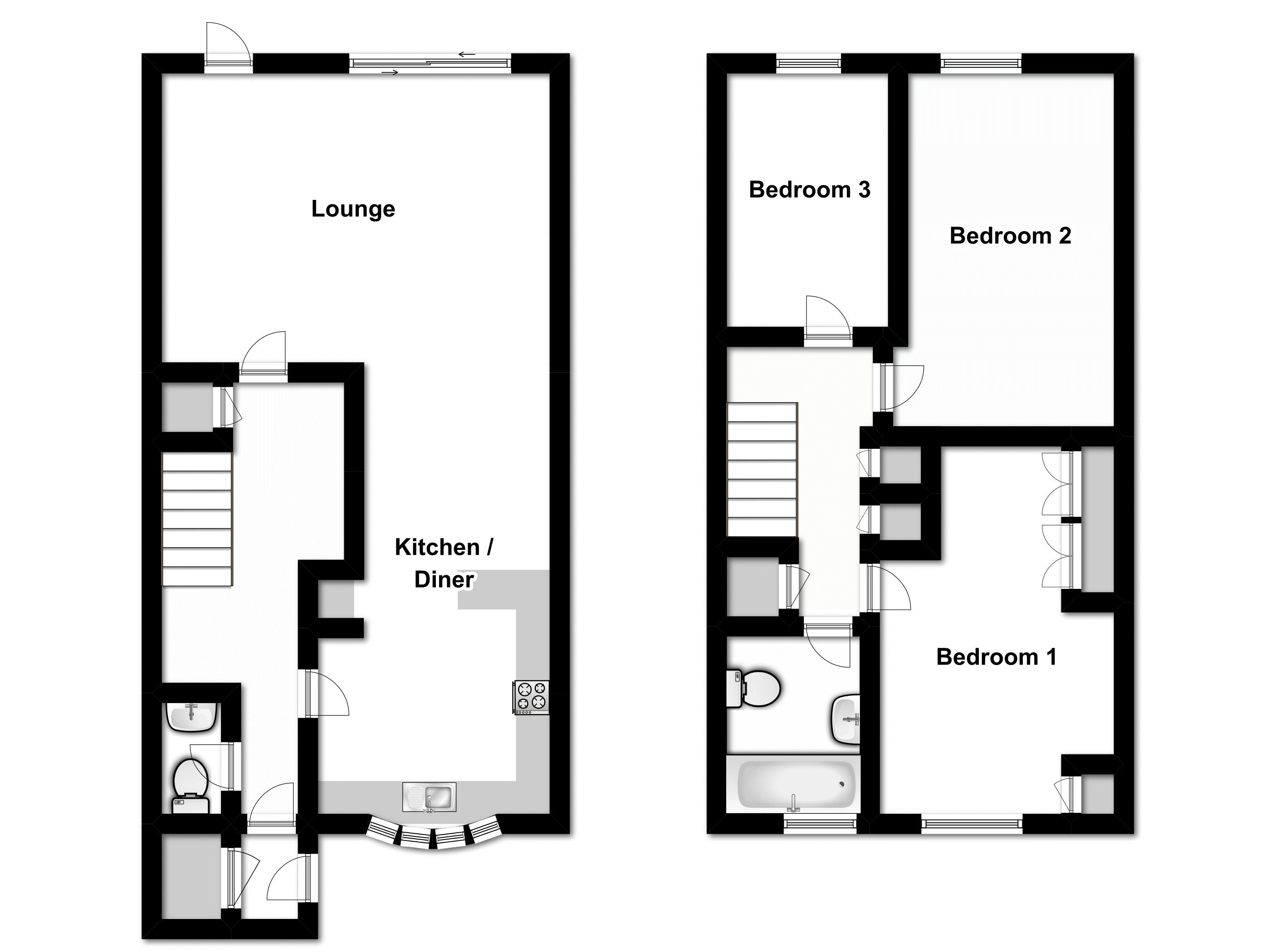 Hornbeam Road, Buckhurst Hill floor plan