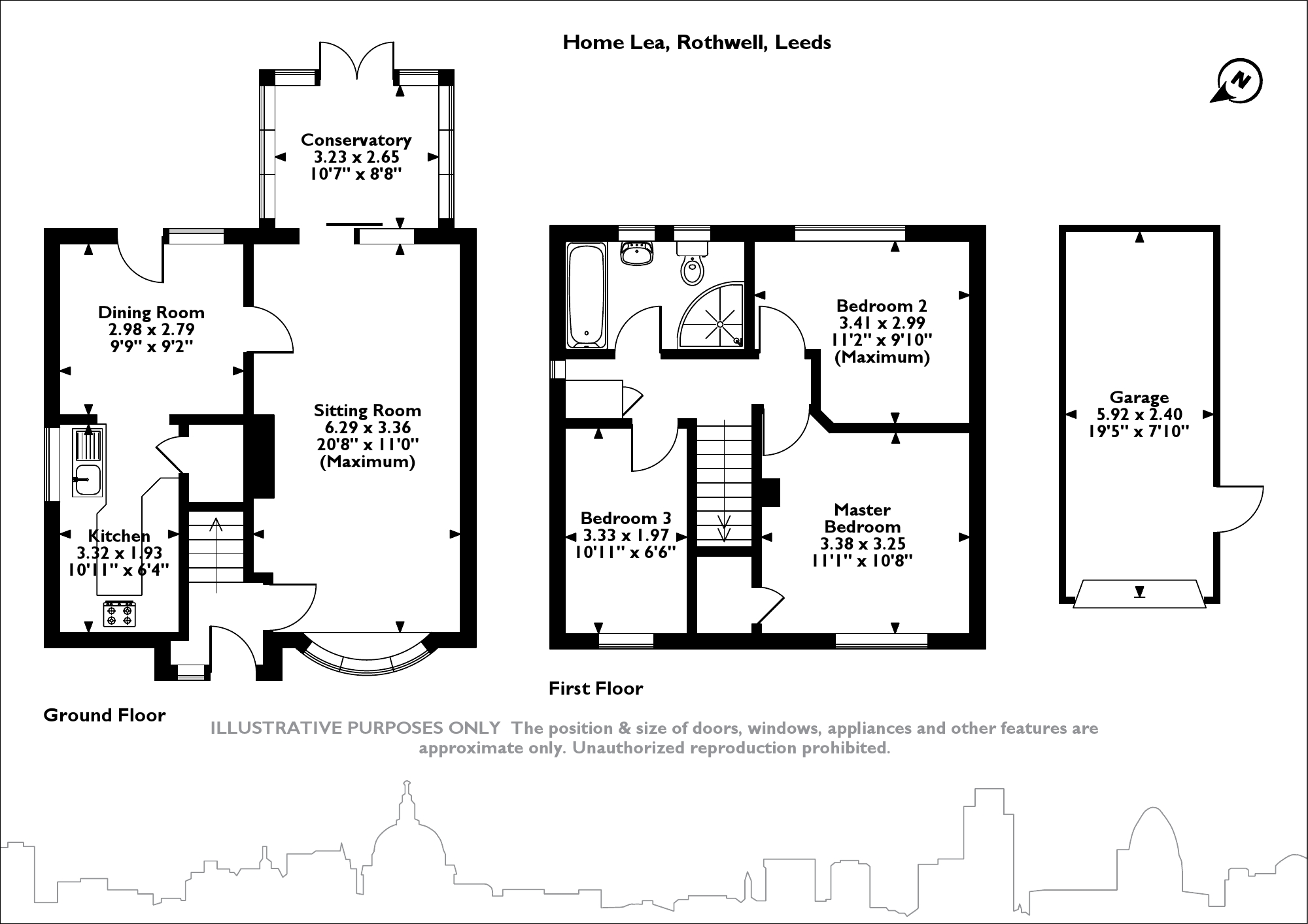 Home Lea, Leeds floor plan