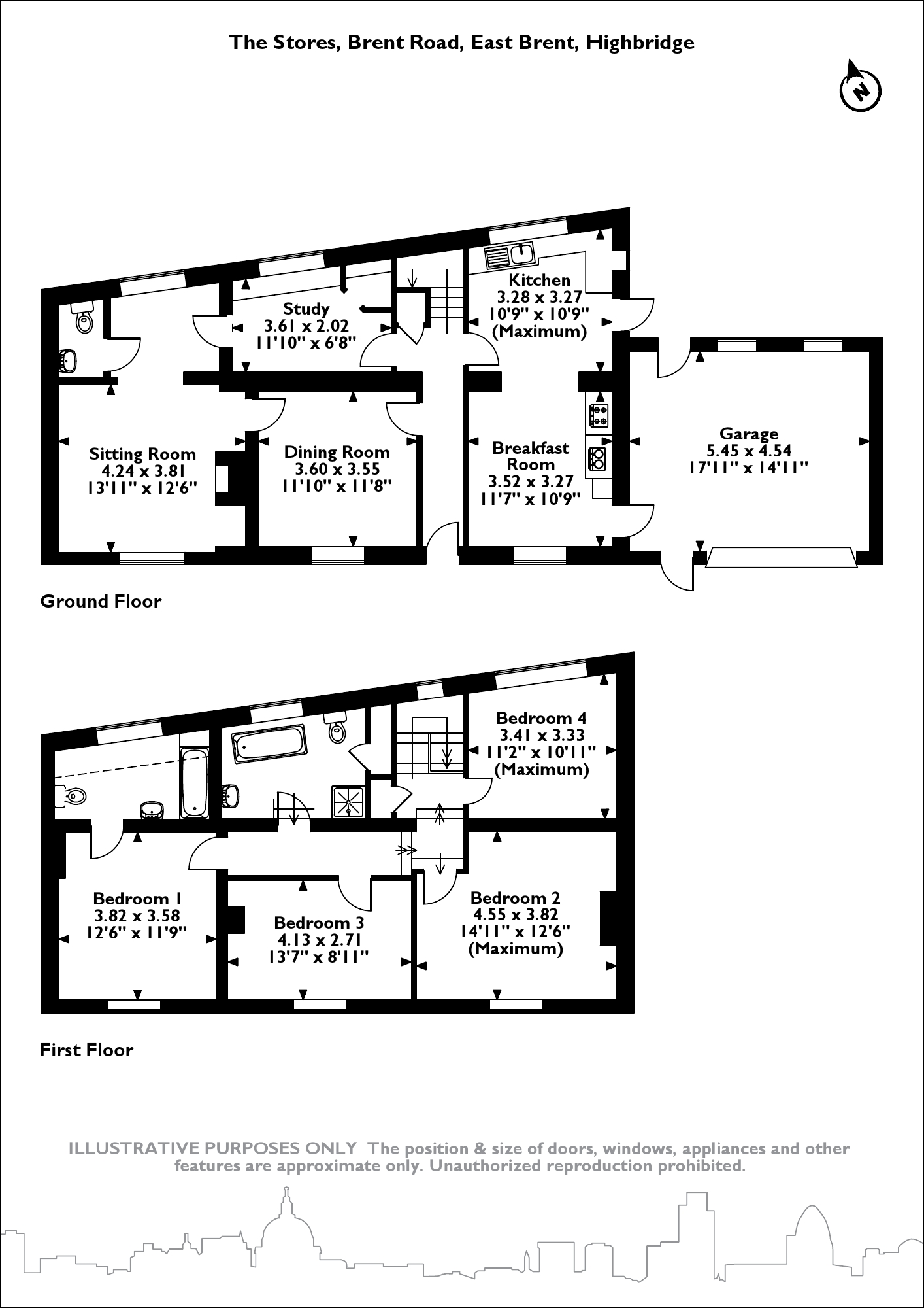 The Stores, East Brent floor plan