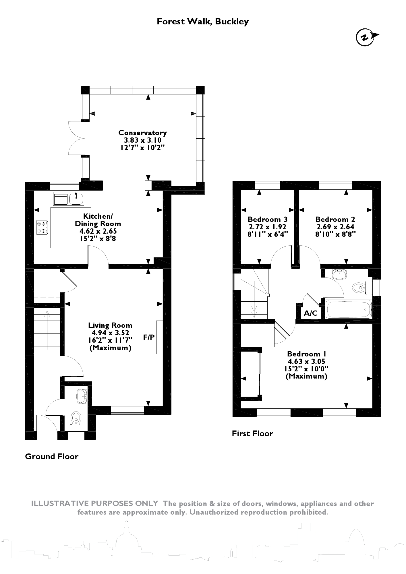 Forest Walk, Buckley, CH7 floor plan