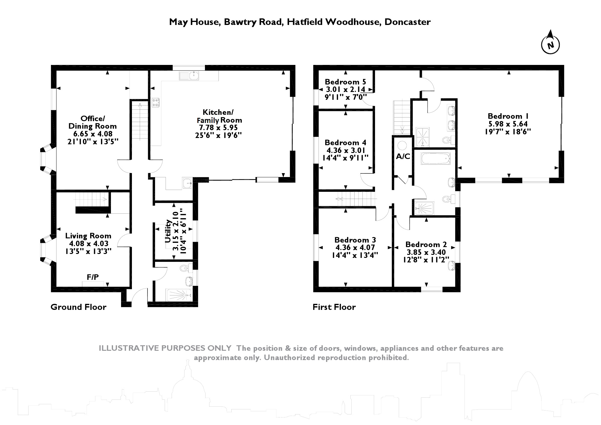 Bawtry Road, Hatfield Woodhouse, Doncaster floor plan