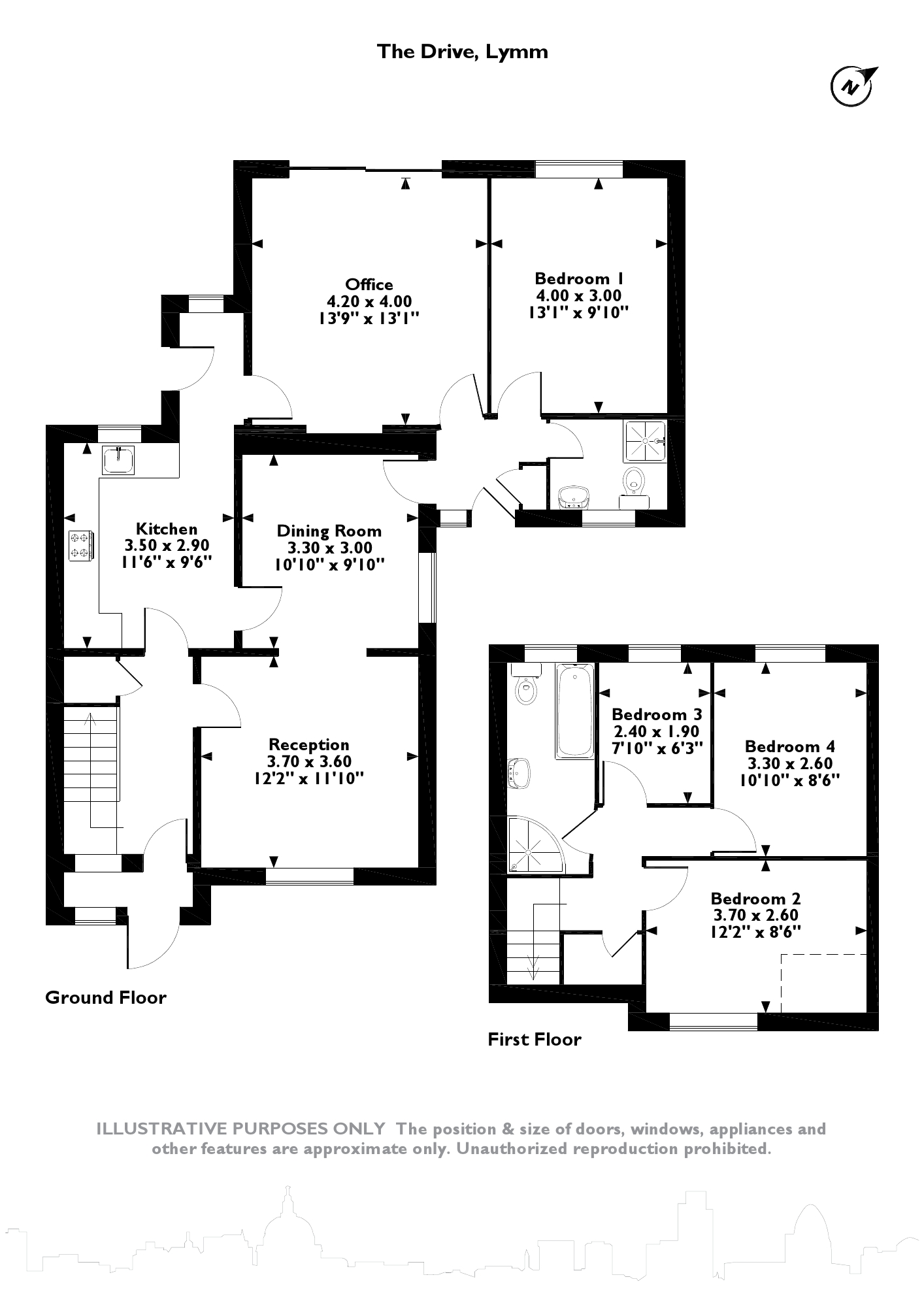 The Drive, Lymm, WA13 floor plan