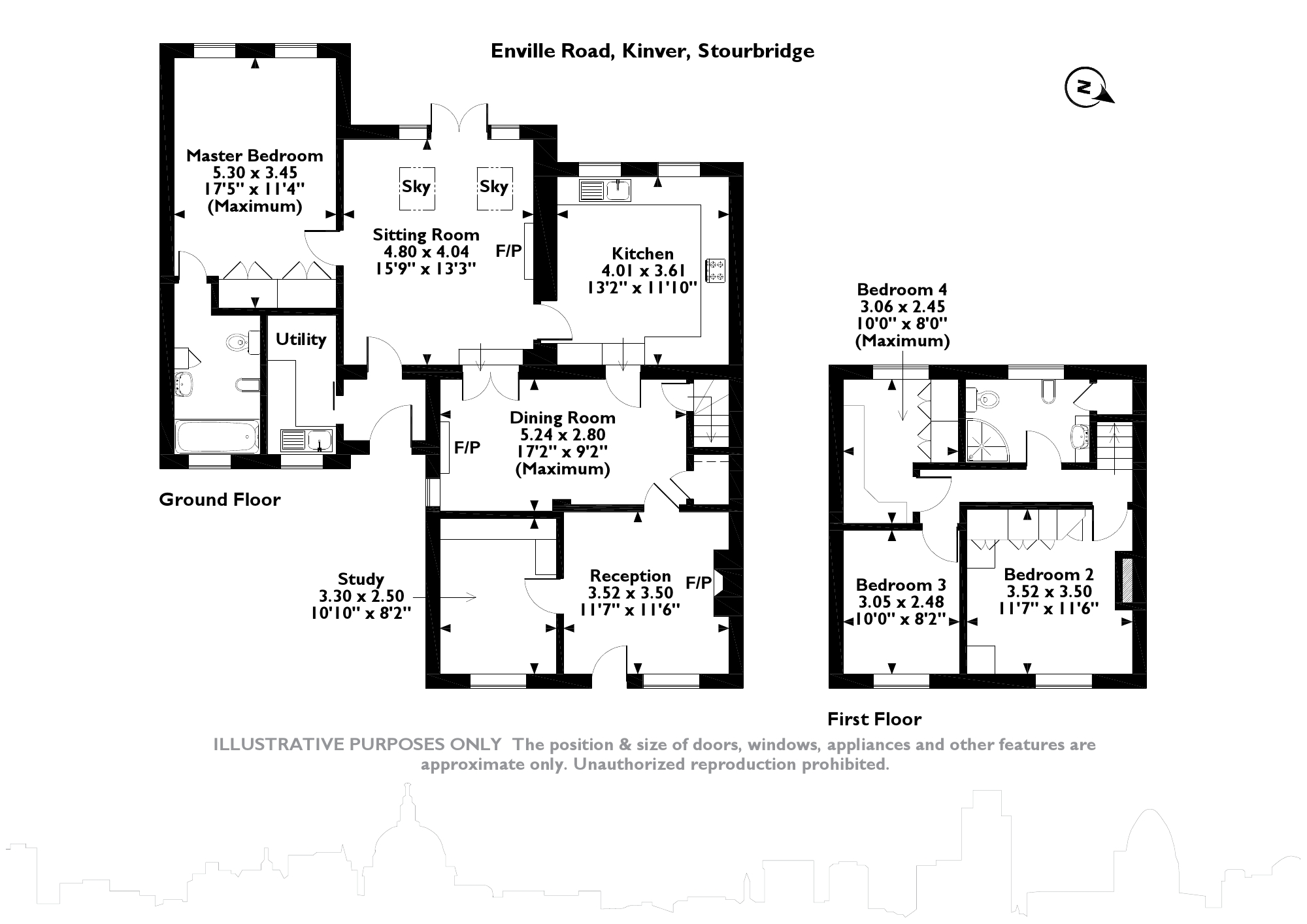 Enville Road, Kinver, Stourbridge, DY7 floor plan