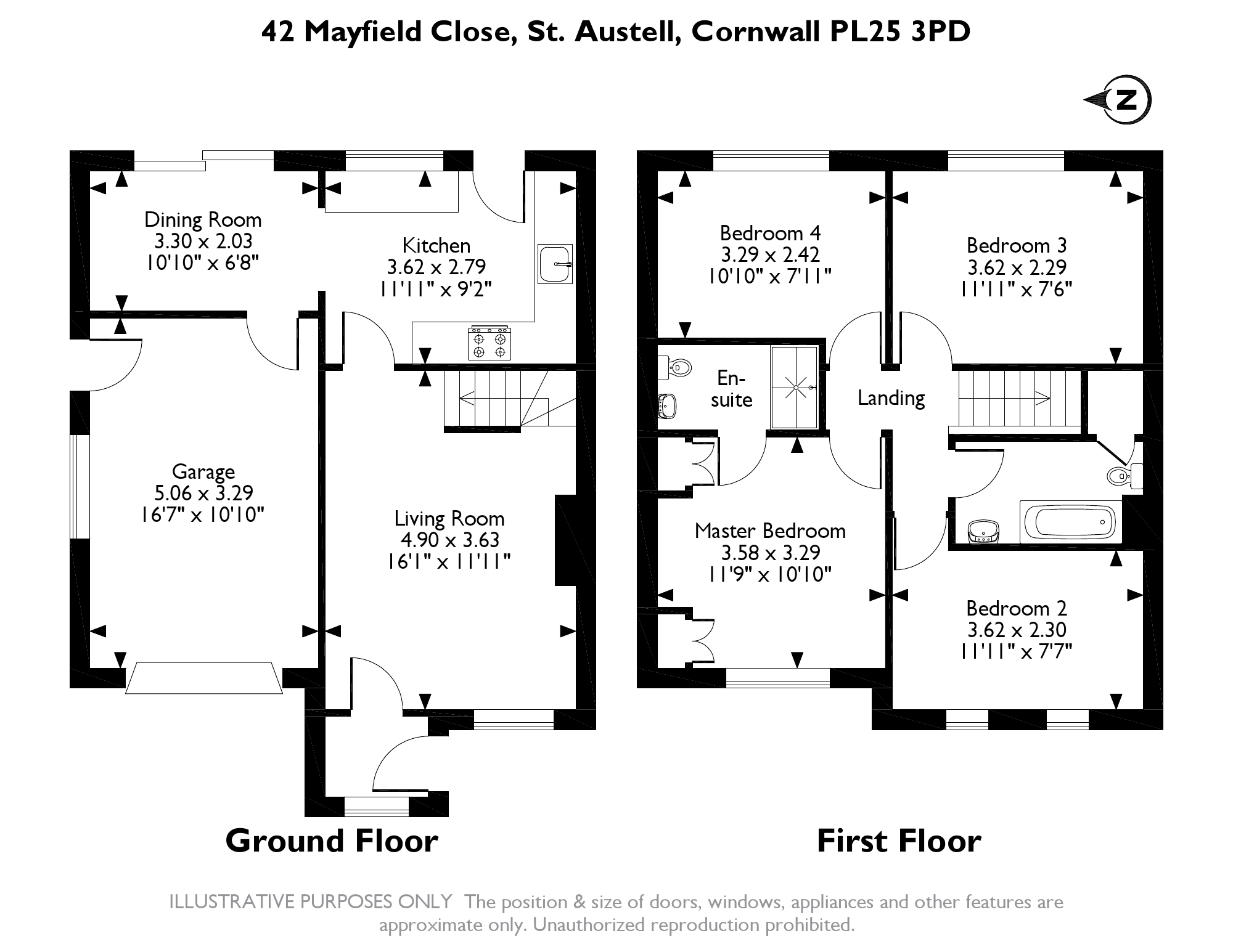 Mayfield Close, St. Austell, PL25 floor plan