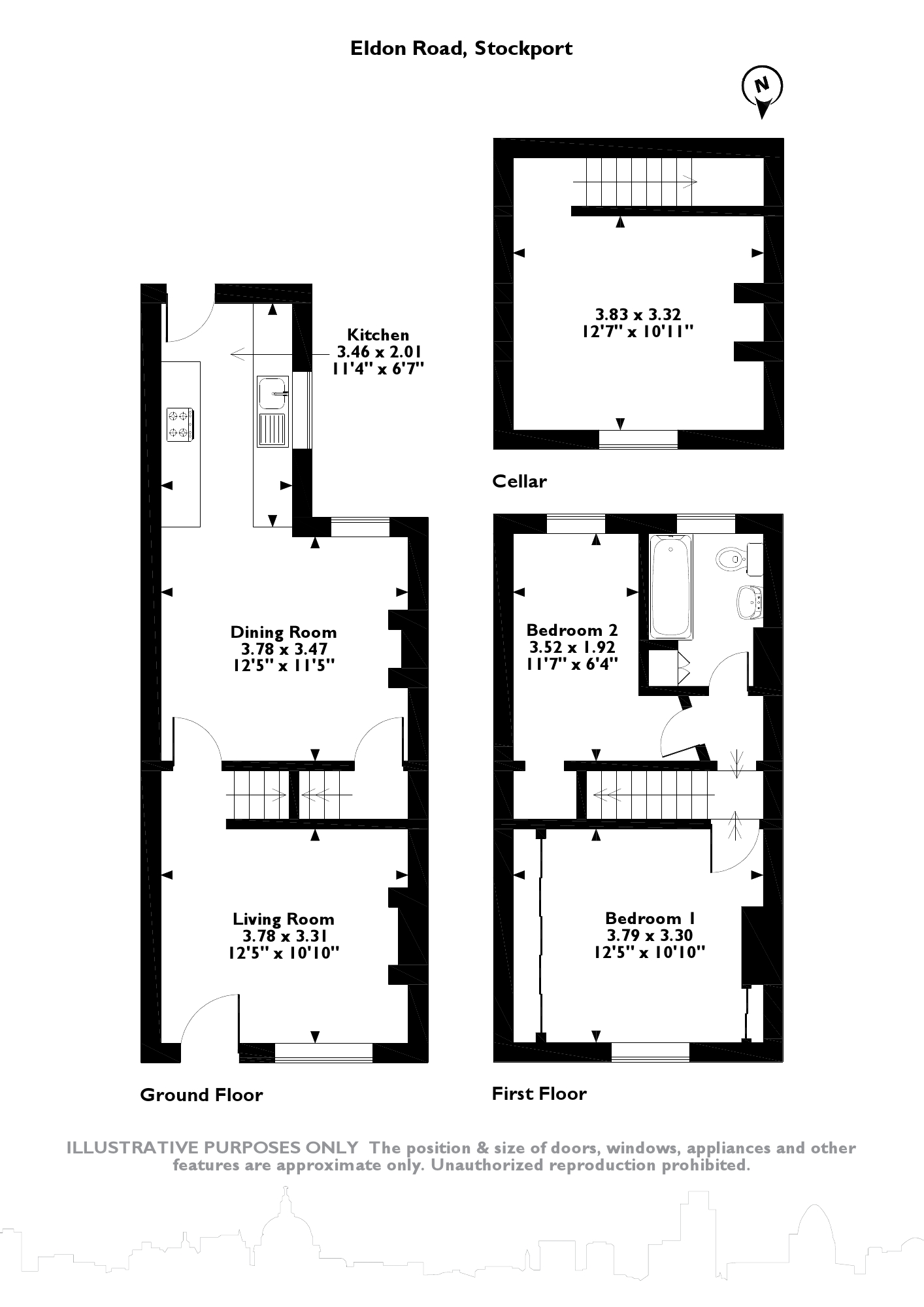 Eldon Road, Stockport, SK3 floor plan