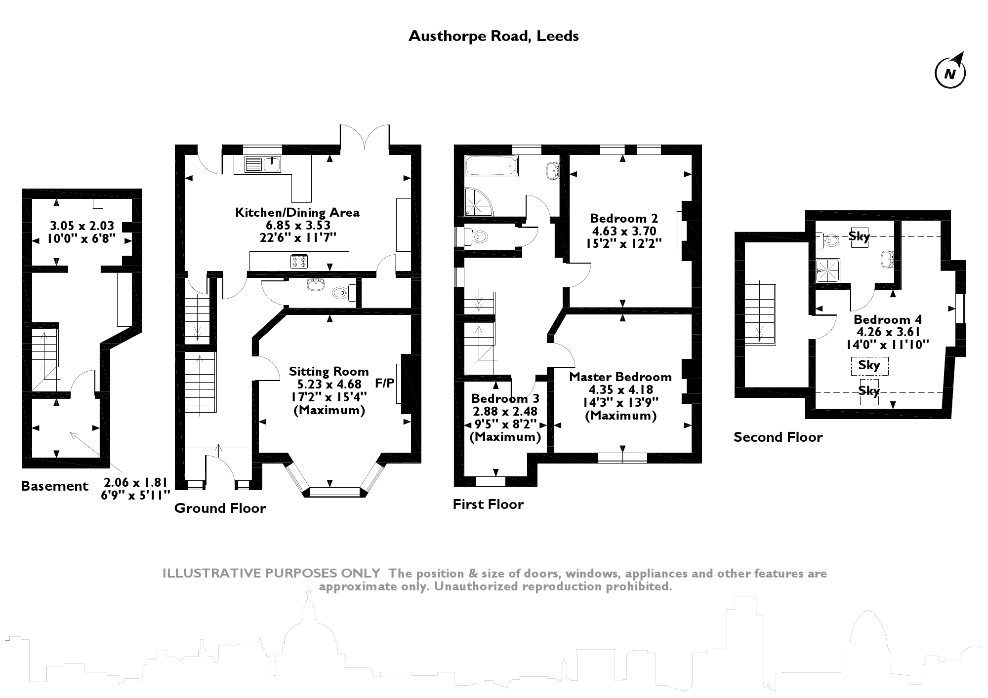 Austhorpe Road,  Leeds, LS15 floor plan