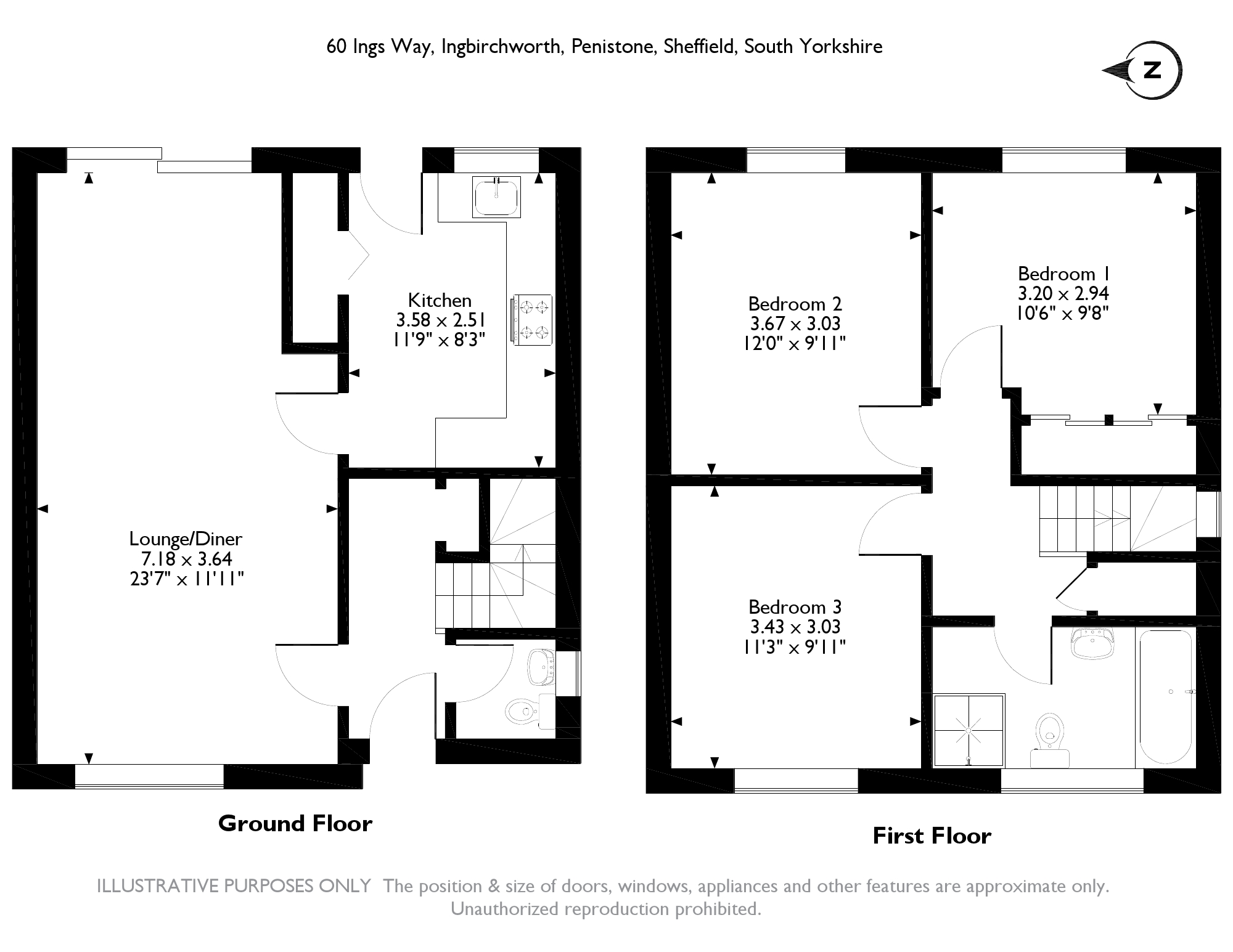 Ings Way, Ingbirchworth, Sheffield, S36 floor plan