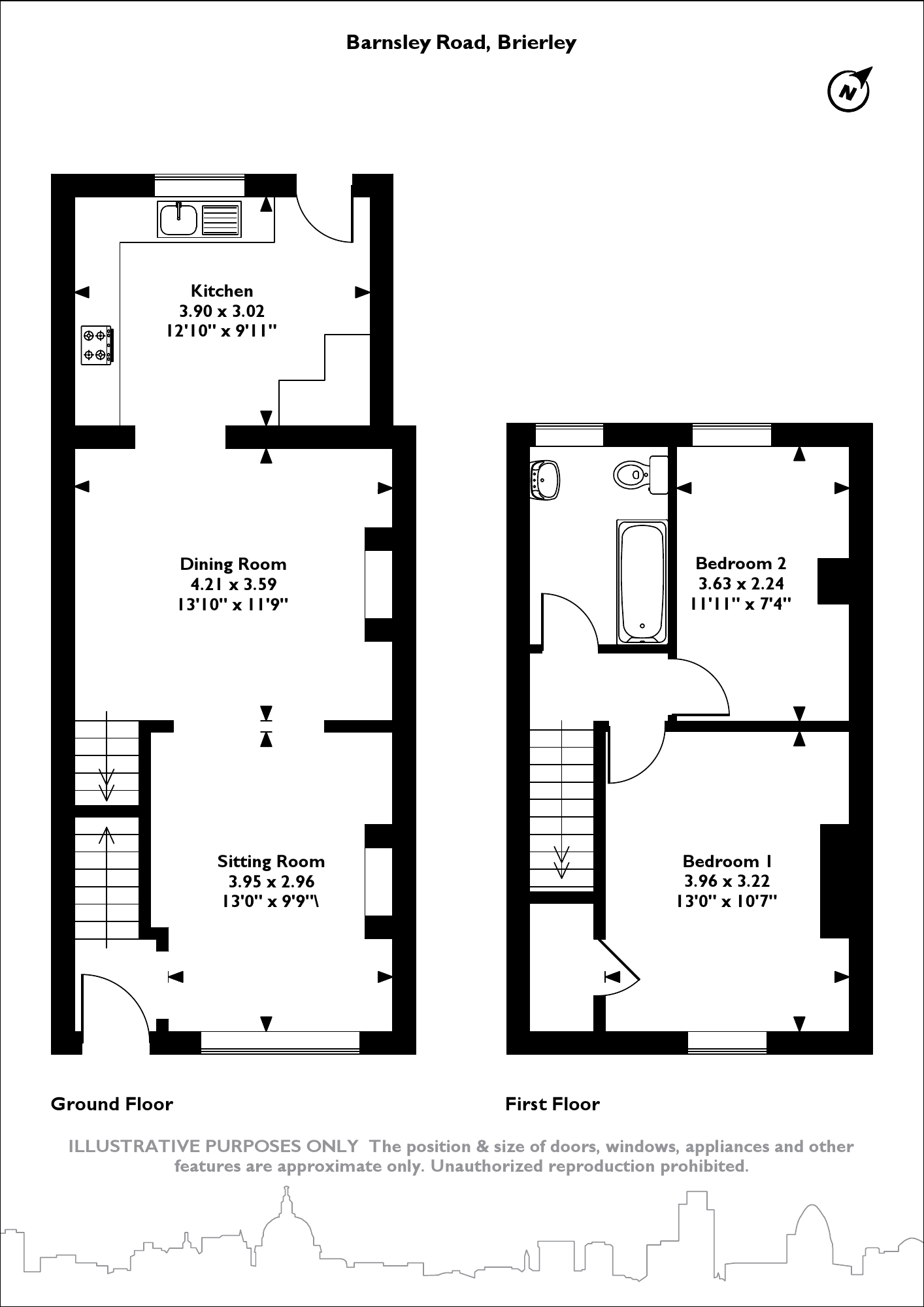 Barnsley Road, Barnsley, S72 floor plan