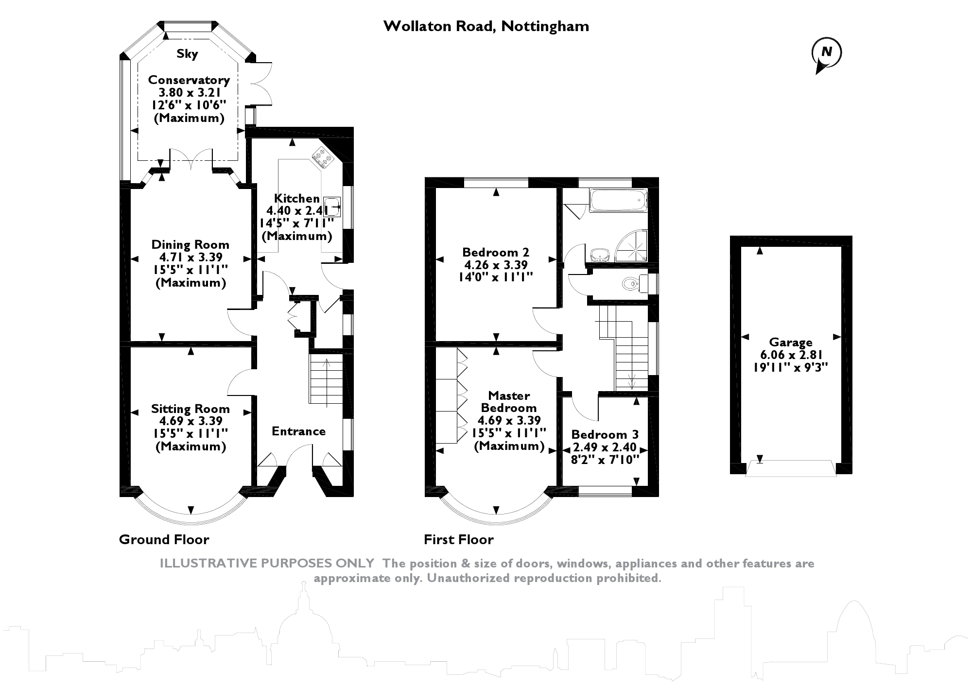 Wollaton Road, Nottingham, NG8 floor plan
