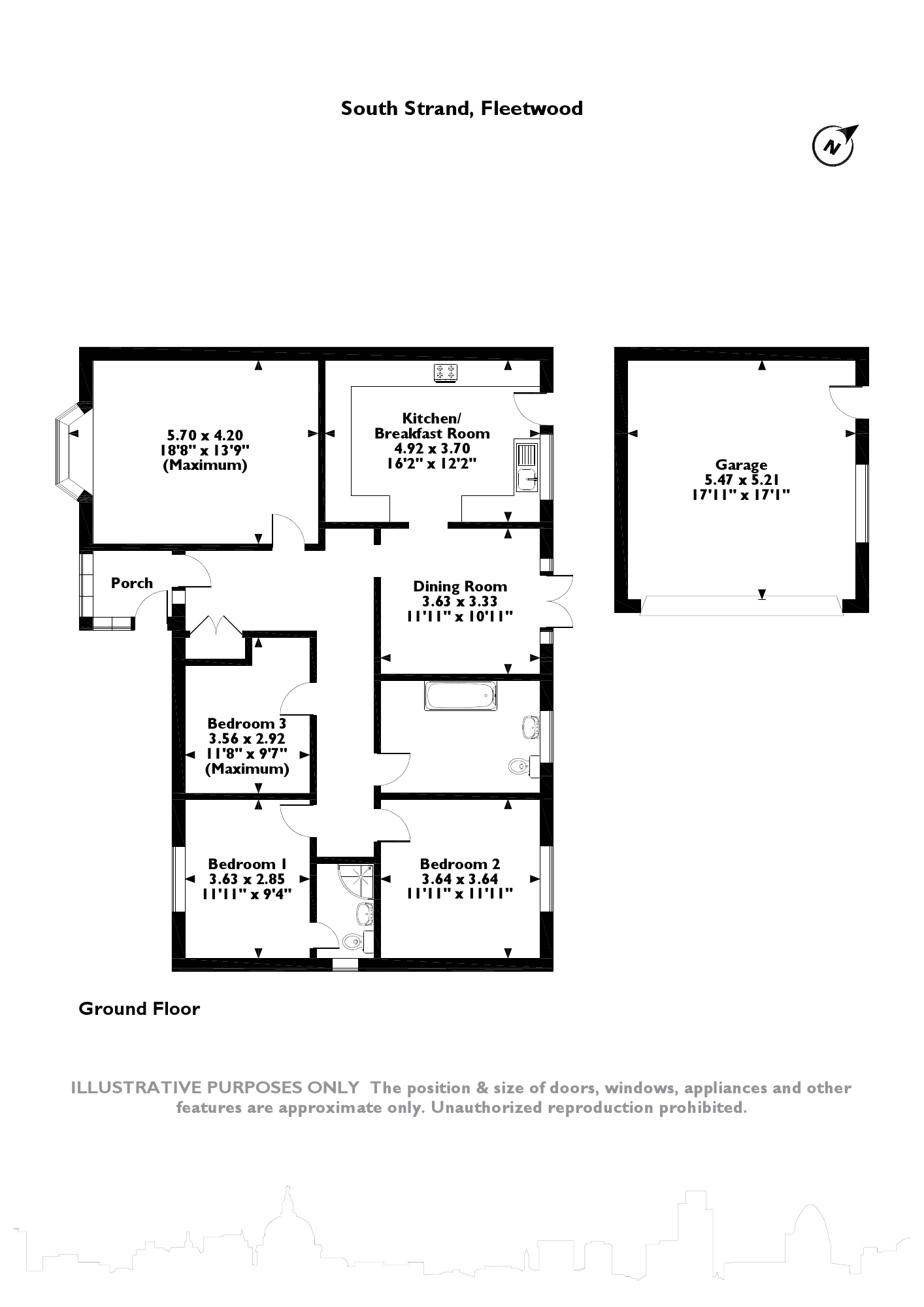 South Strand, Fleetwood, FY7 floor plan