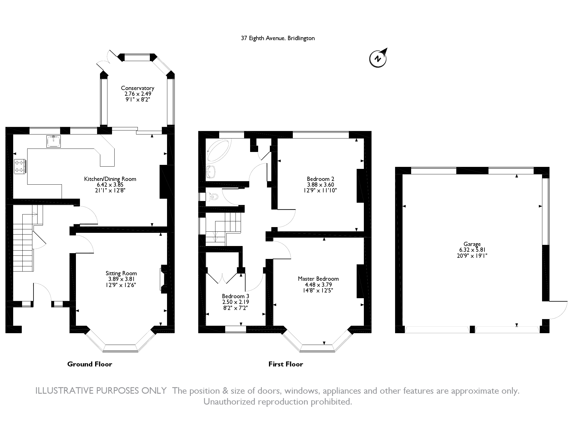 Eighth Avenue, Bridlington, YO15 floor plan