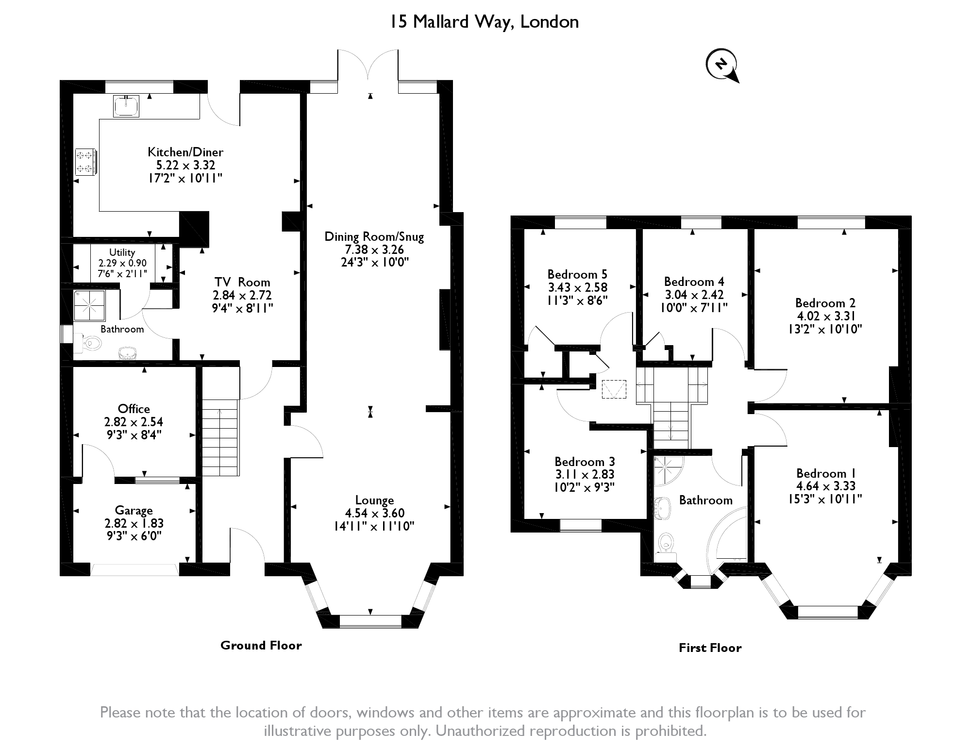 Mallard Way, London, NW9 floor plan