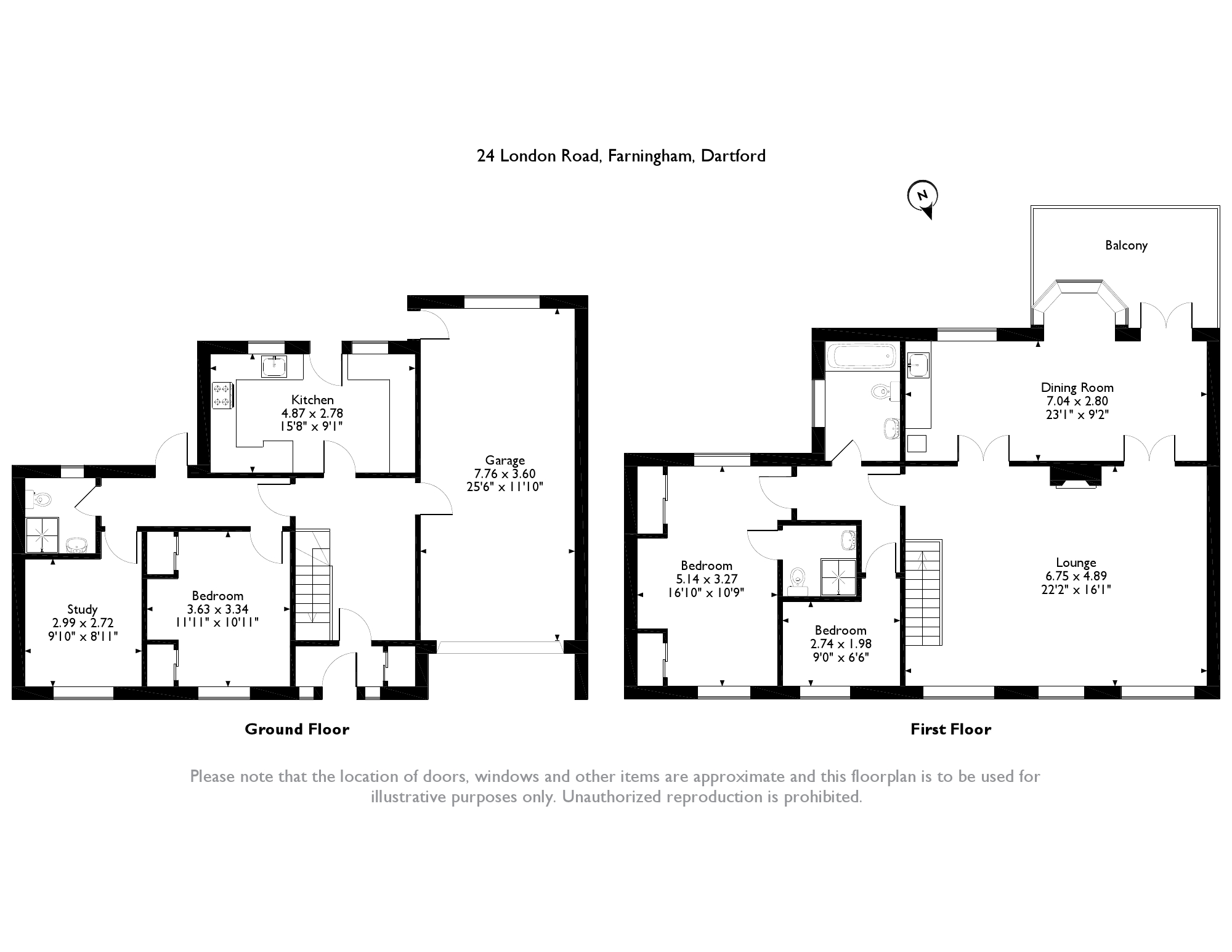 London Road, Dartford, DA4 floor plan