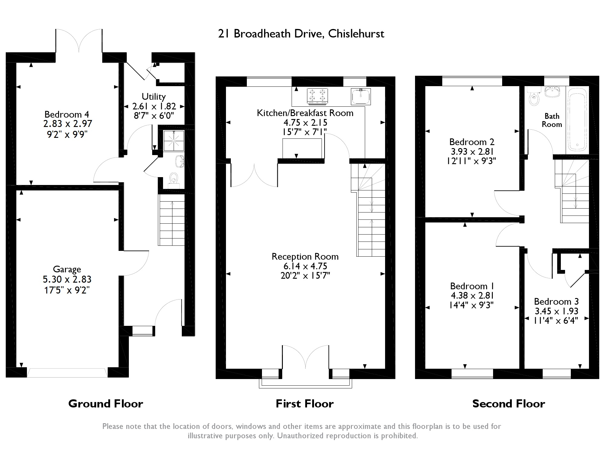Broadheath Drive, Chislehurst floor plan