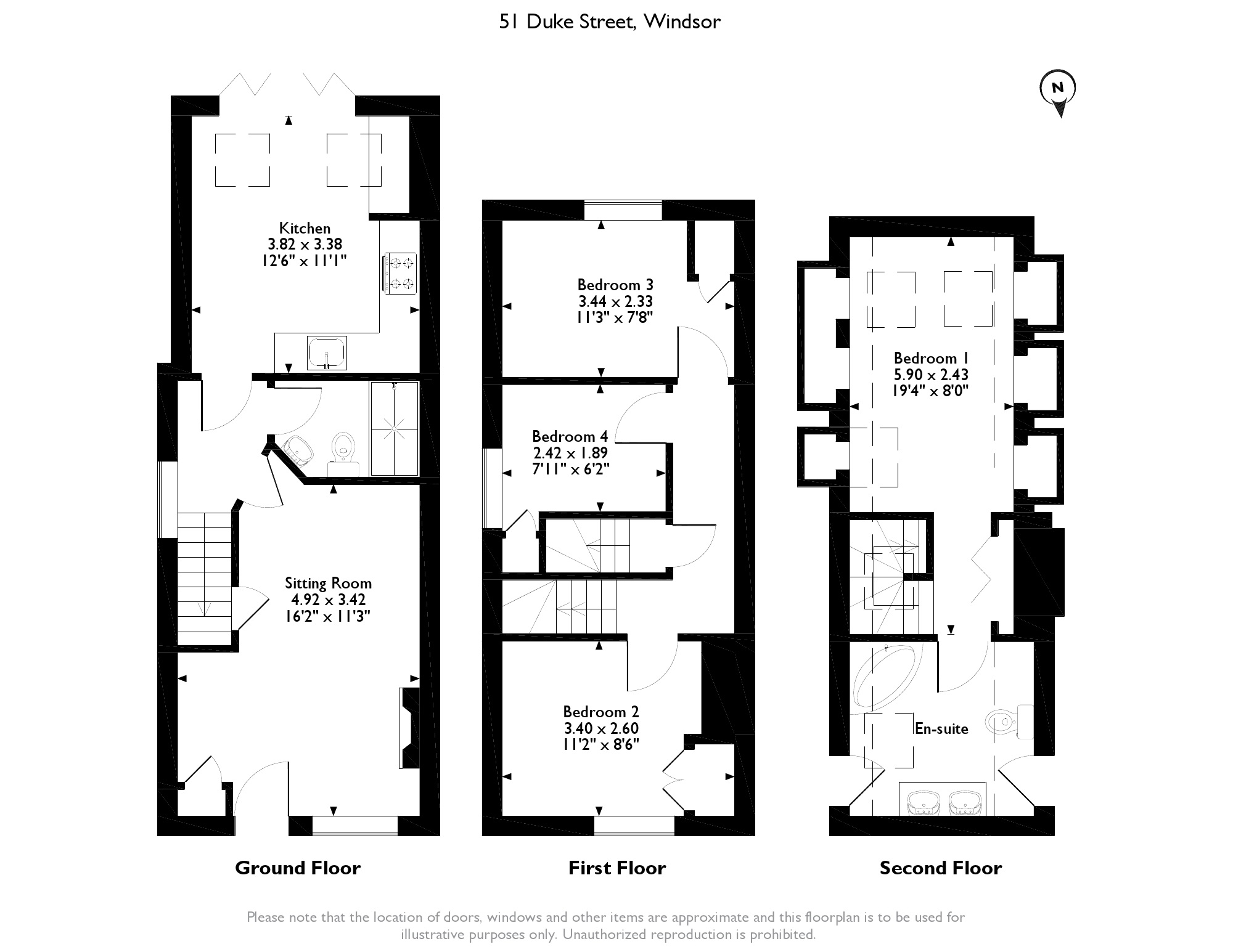 Duke Street, Windsor, SL4 floor plan