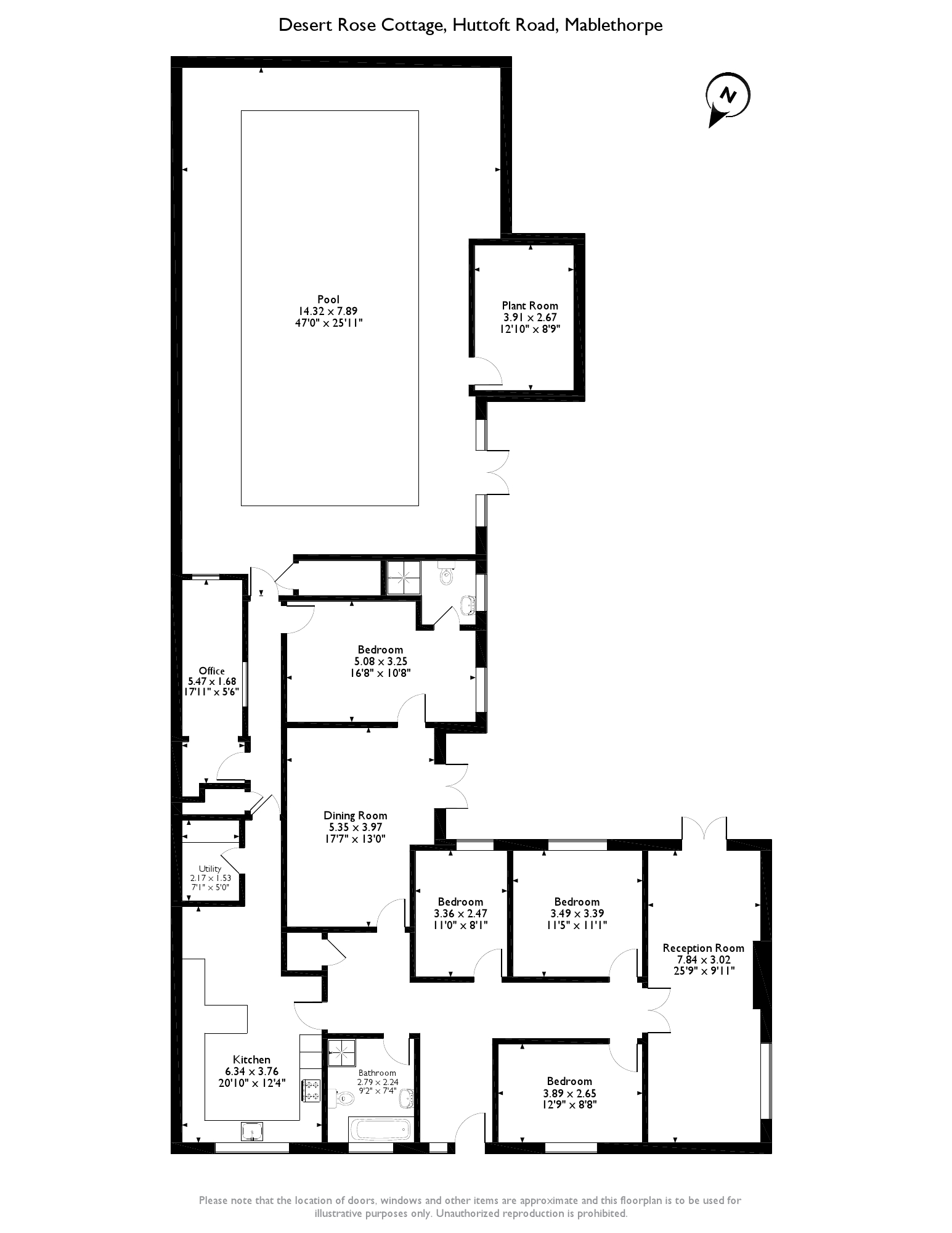 Huttoft Road, Mablethorpe, LN12 floor plan