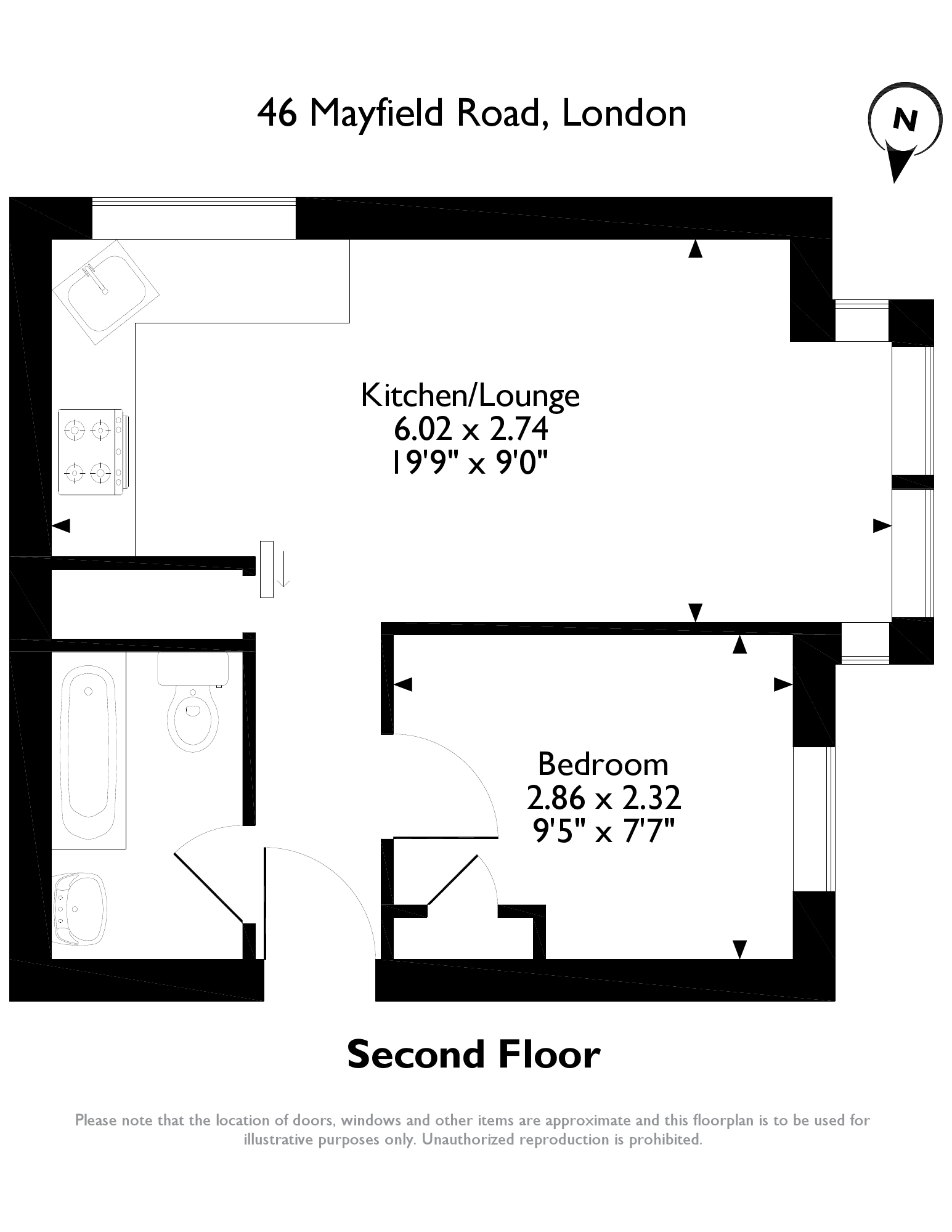 Mayfield Road, London floor plan