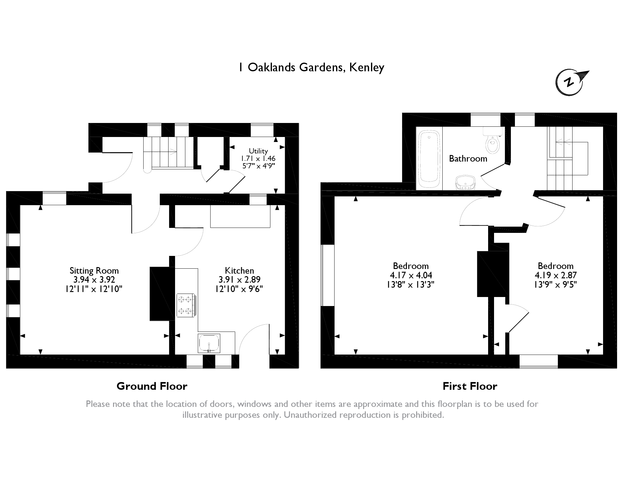 Oaklands Gardens, Kenley, CR8 floor plan