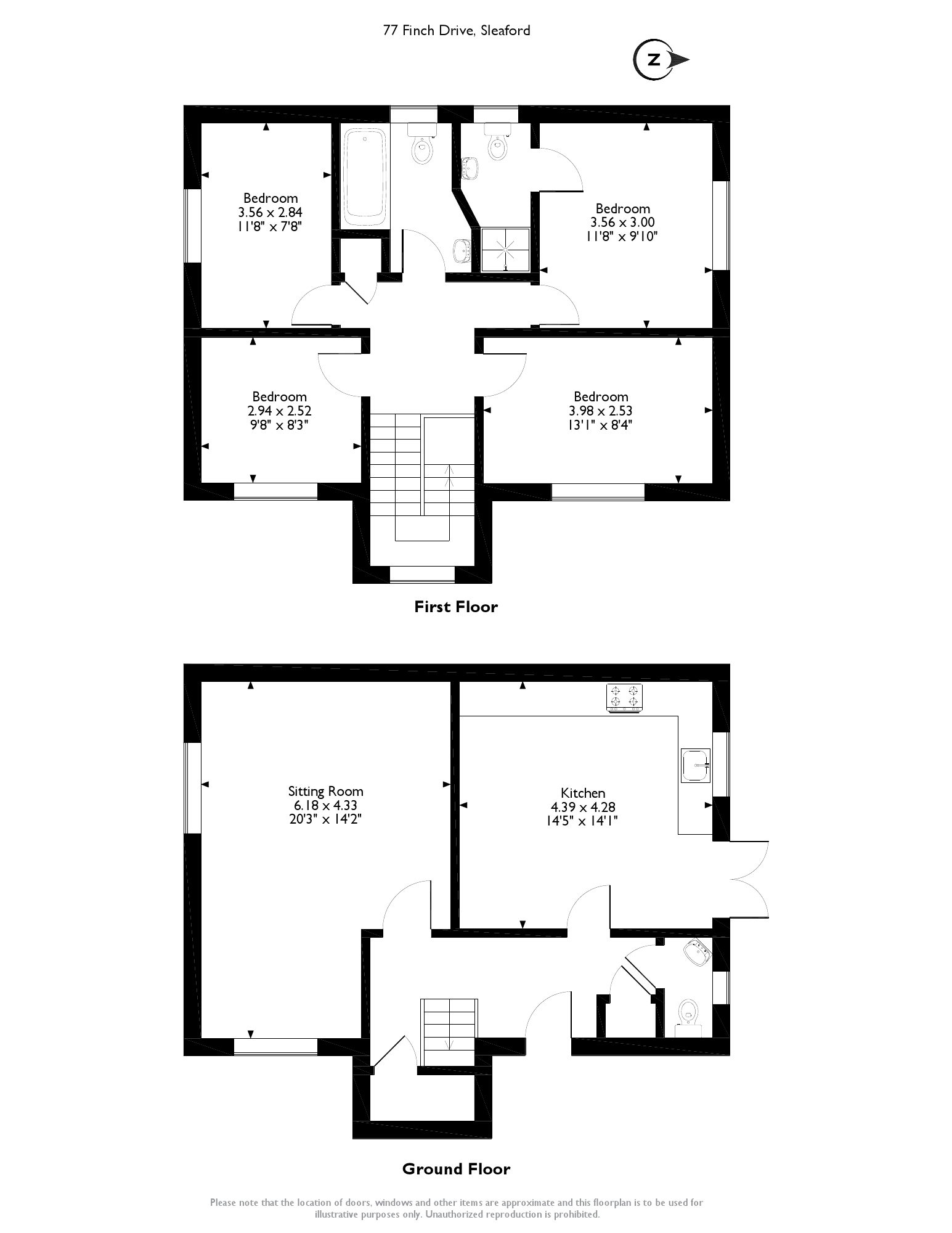 Finch Drive, Sleaford, NG34 floor plan