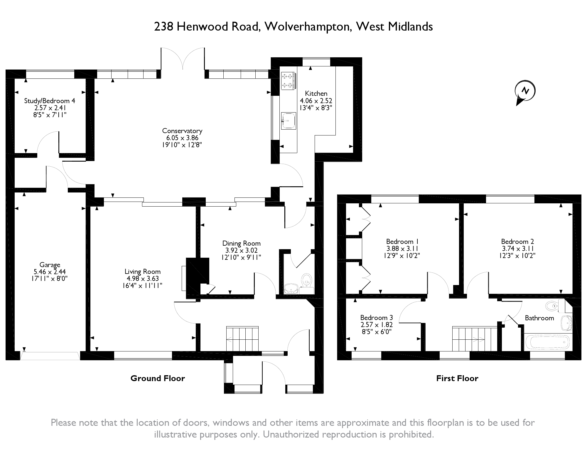 Henwood Road, Wolverhampton, WV6 floor plan
