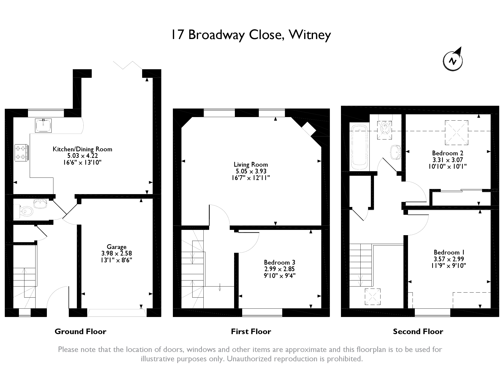 Broadway Close,  Witney, Oxfordshire floor plan