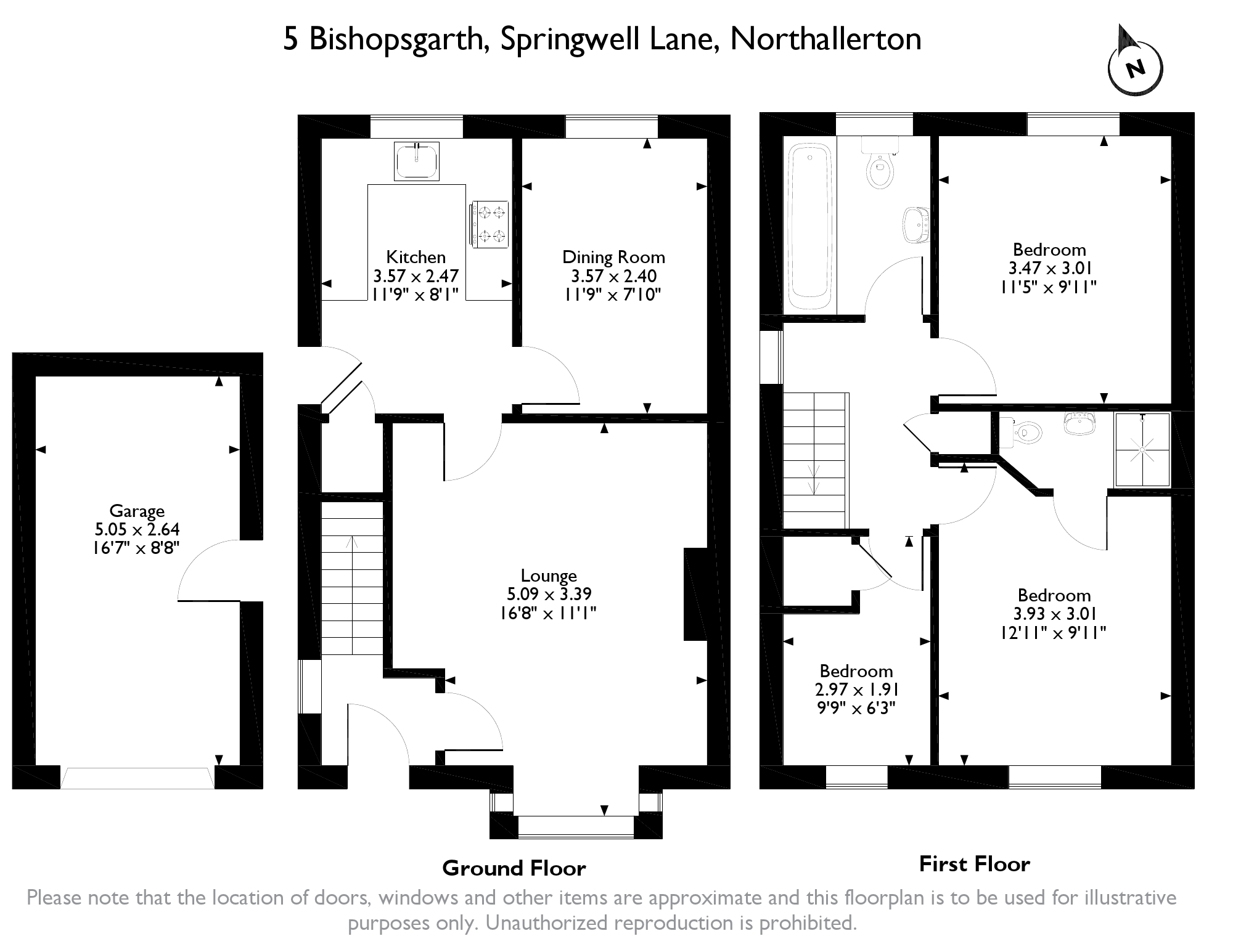 Bishopsgarth, Northallerton, North Yorkshire, DL7 floor plan