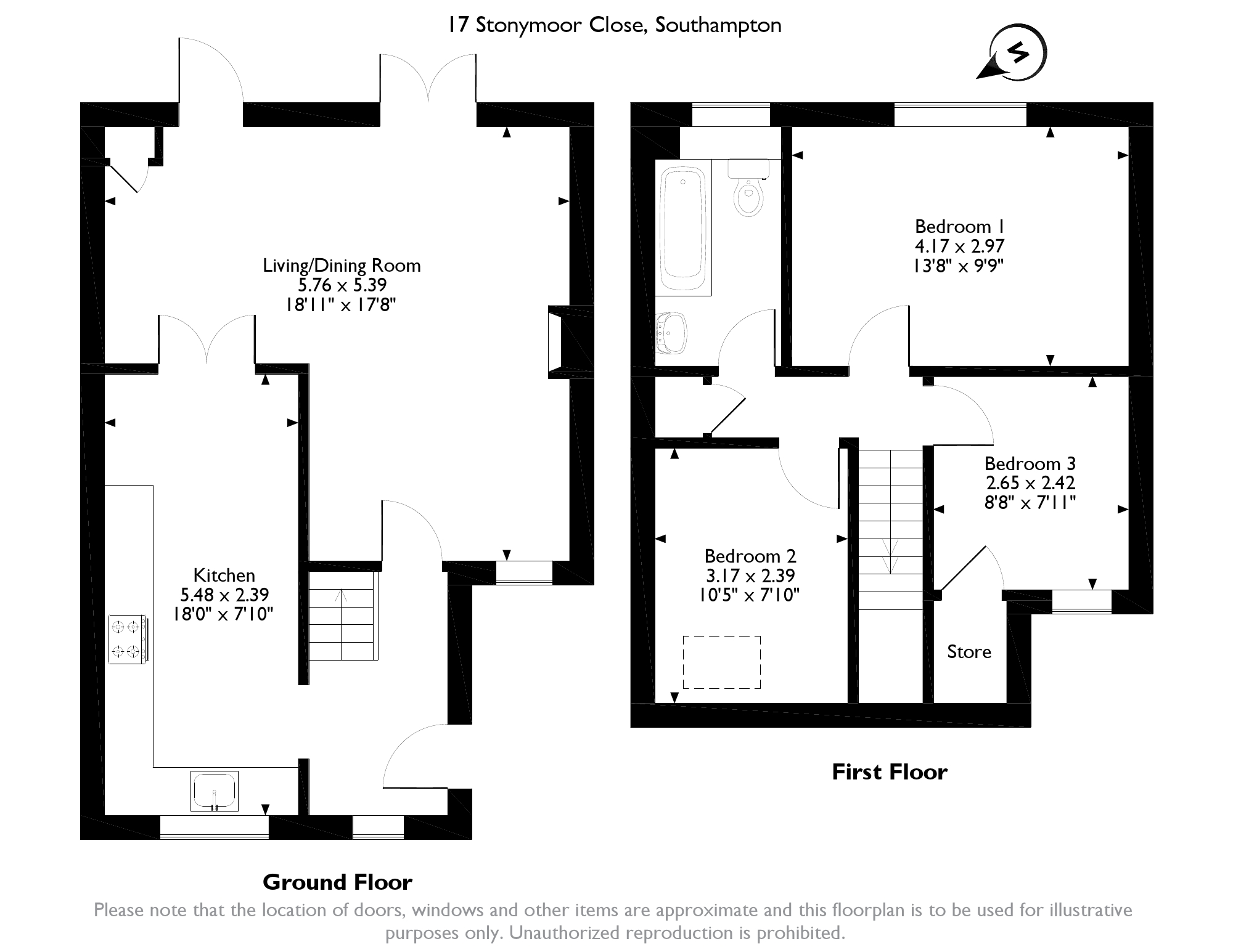 Stonymoor Close, Southampton,  SO45 floor plan