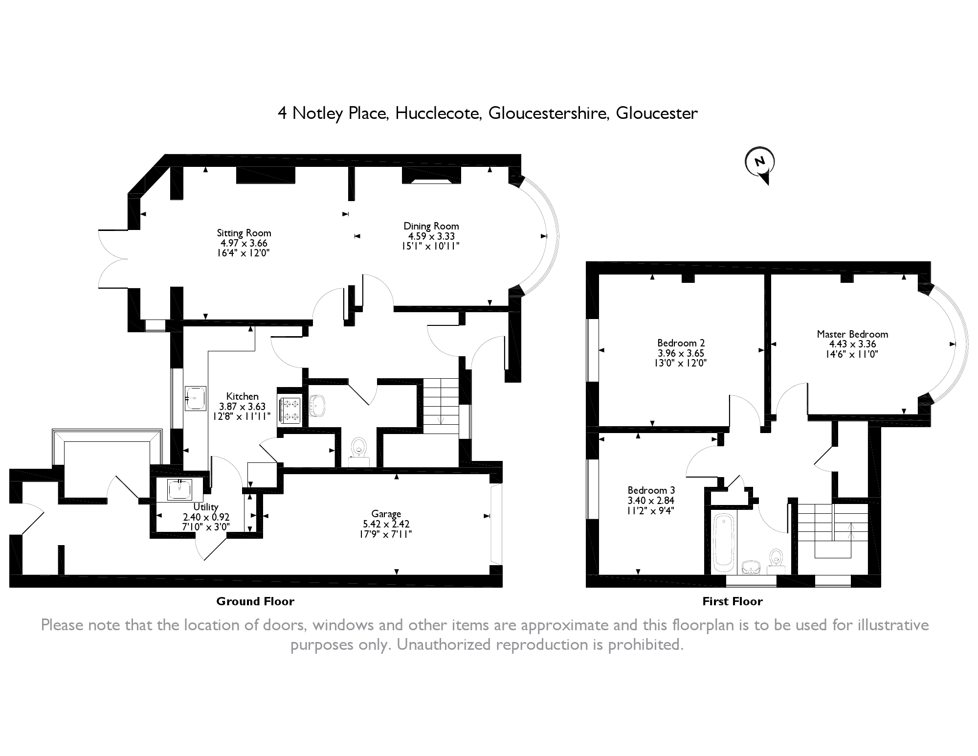 Notley Place, Gloucester, Gloucestershire floor plan