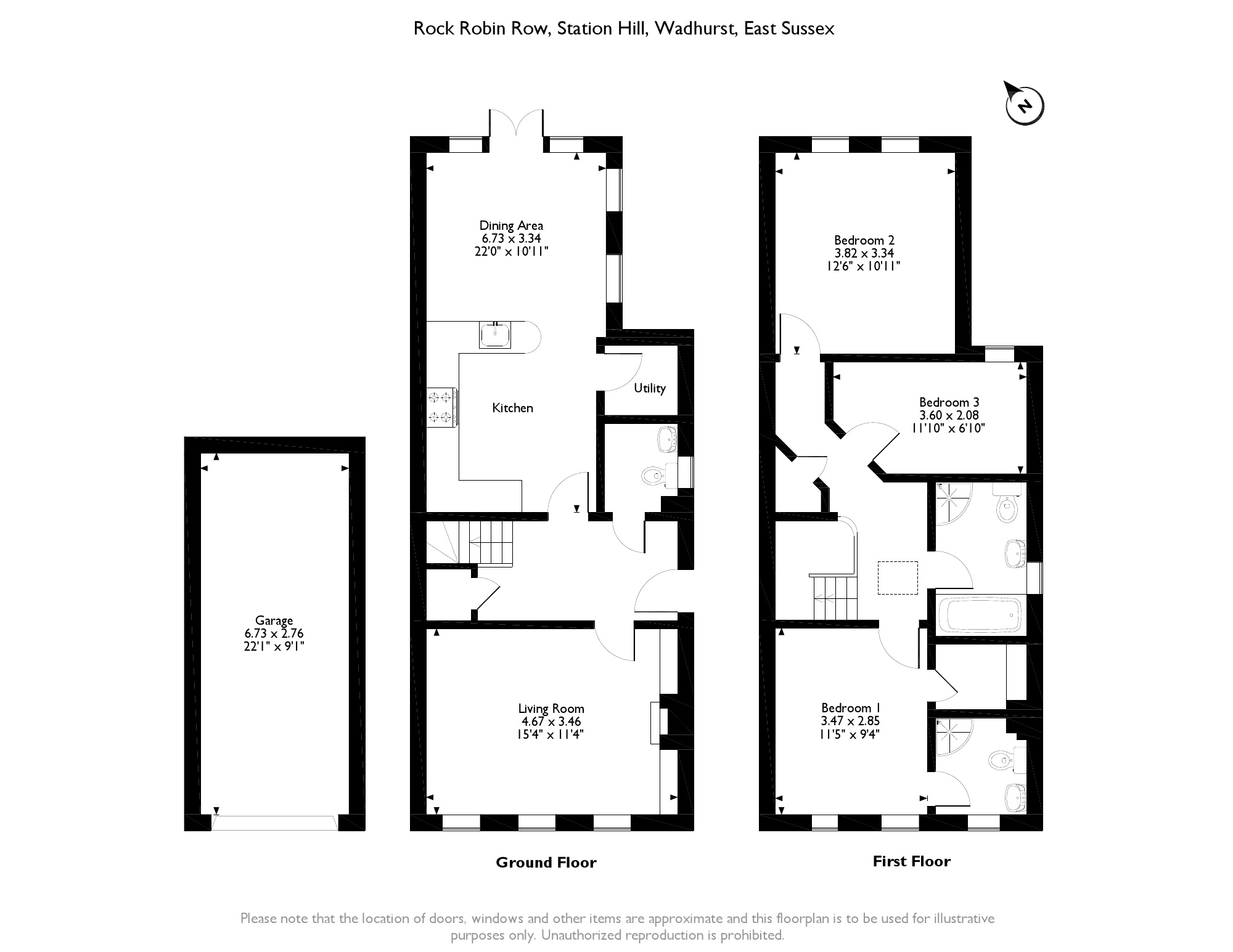 Rock Robin Row, Wadhurst, East Sussex, TN5 floor plan