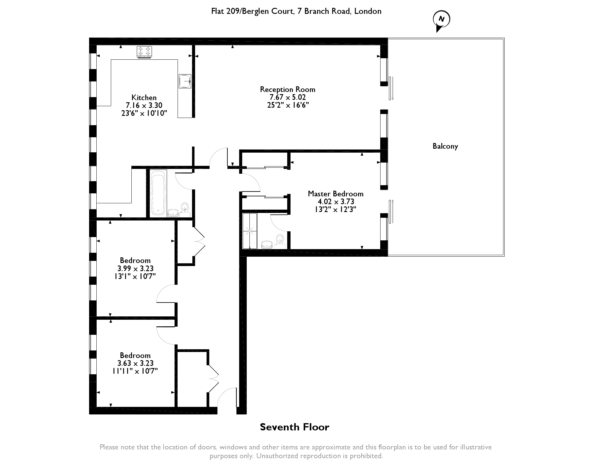 Branch Road, London, E14 floor plan