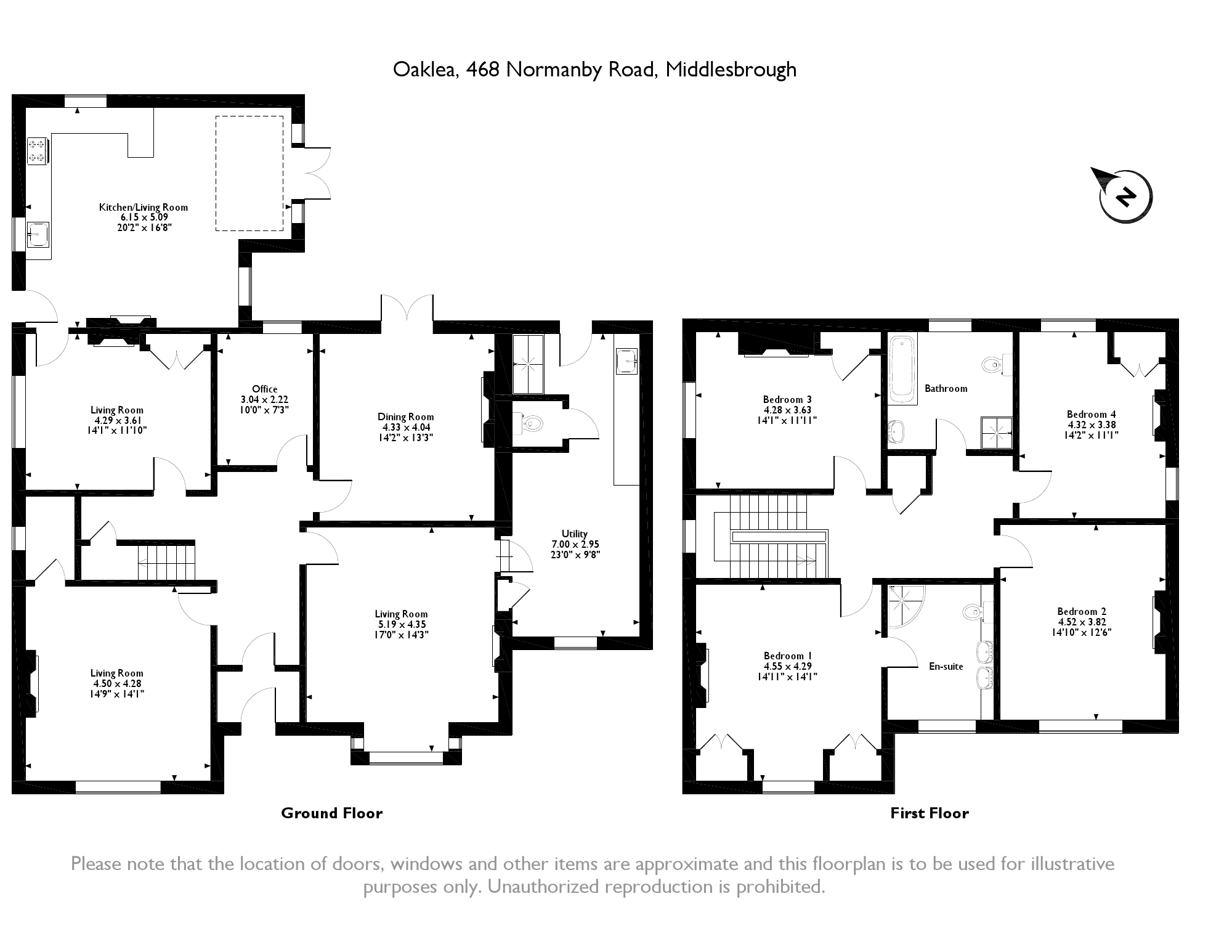 Normanby Road, Middlesbrough, TS6 floor plan