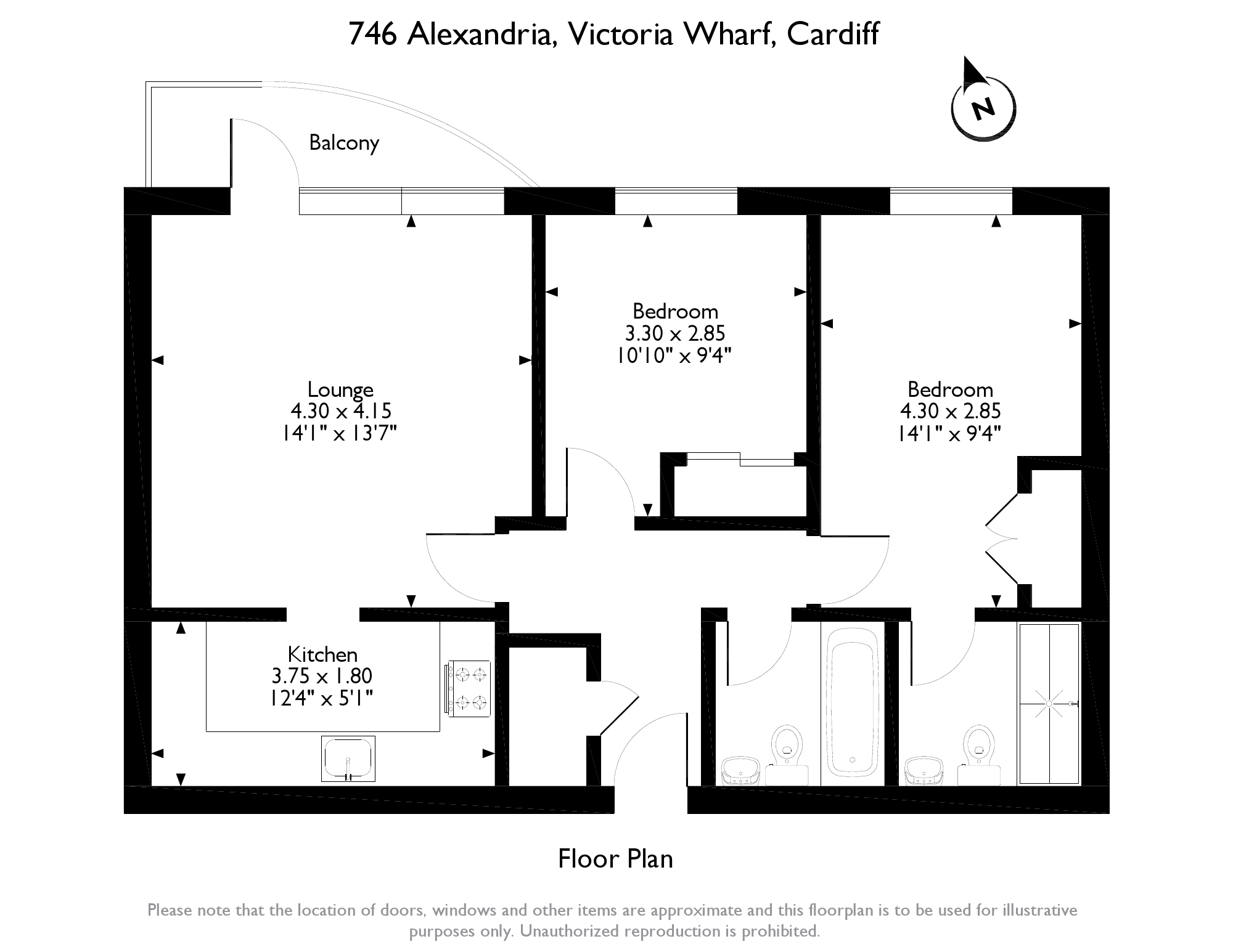 Victoria Wharf, Watkiss Way, Cardiff, CF11 floor plan