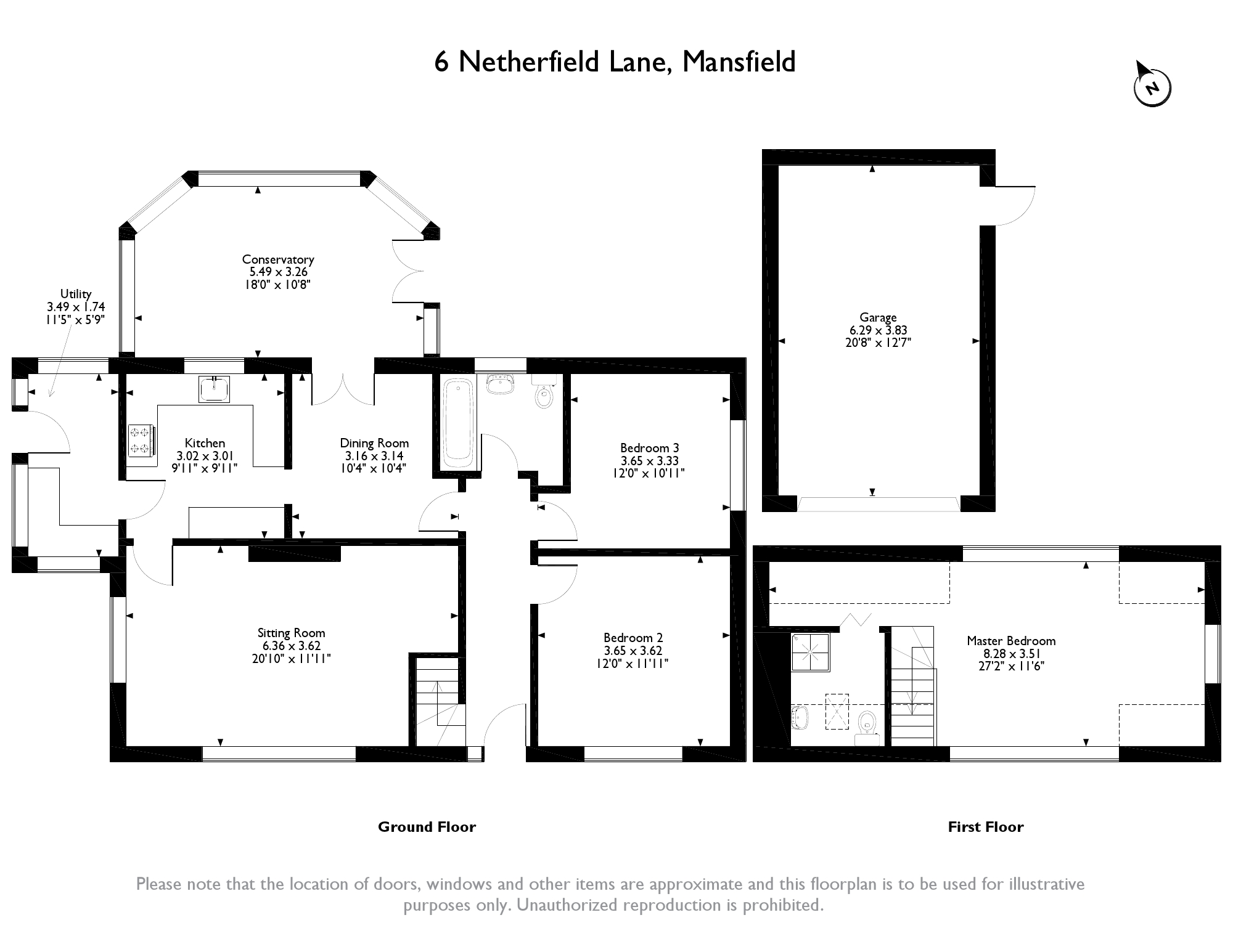 Netherfield Lane, Church Warsop, Mansfield floor plan