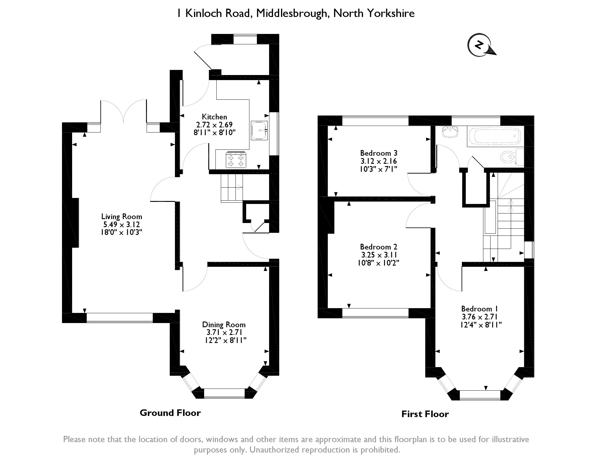 Kinloch Road, Normanby Middlesbrough,  TS6 floor plan