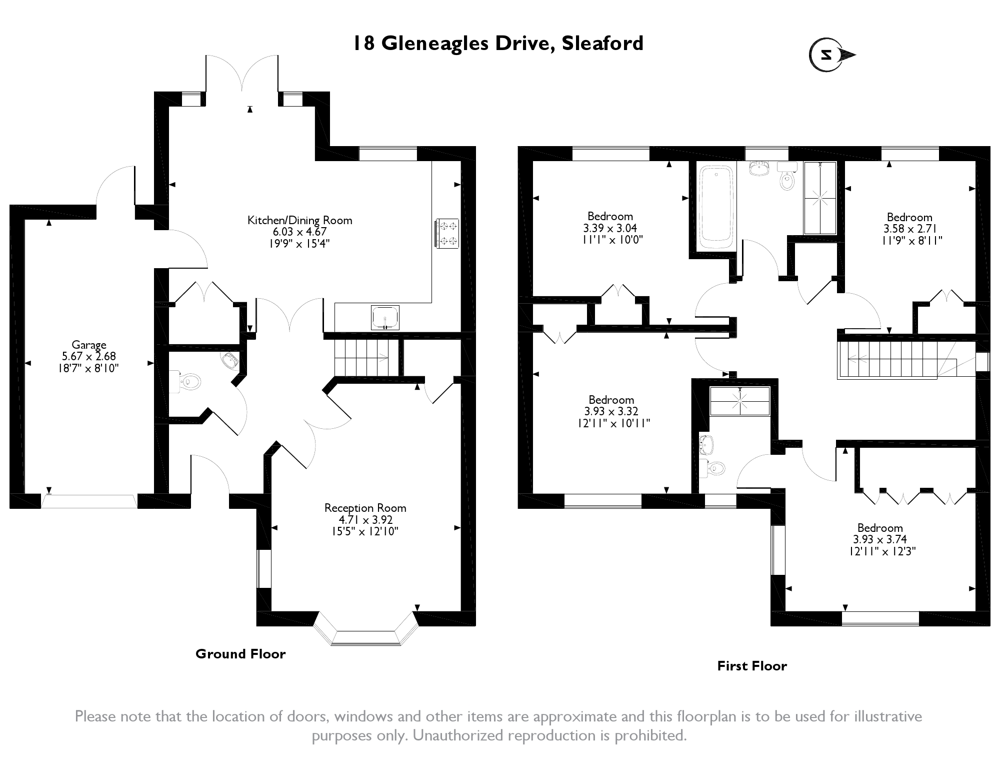 Gleneagles Drive, Sleaford, NG34 floor plan