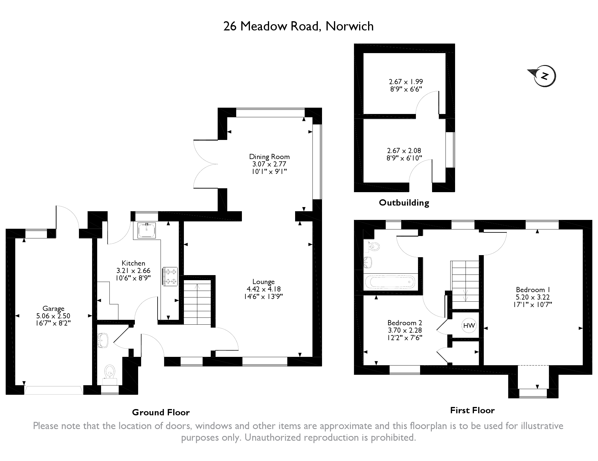 Meadow Road, Norwich, NR5 floor plan